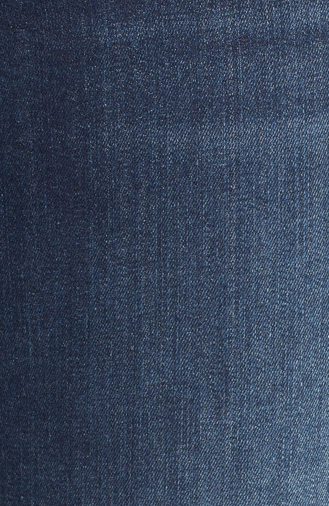 J BRAND, '811' Ankle Skinny Jeans, Alternate thumbnail 6, color, 401