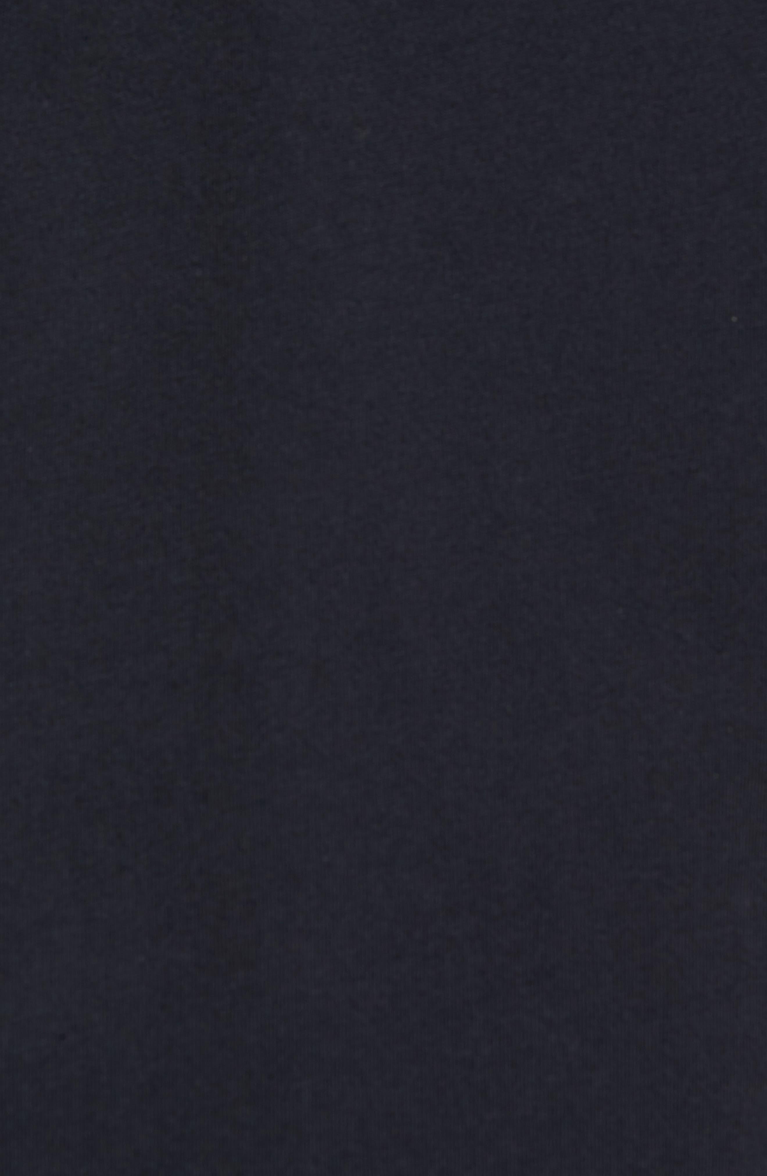 NORDSTROM MEN'S SHOP, Regular Fit Polo, Alternate thumbnail 5, color, BLACK