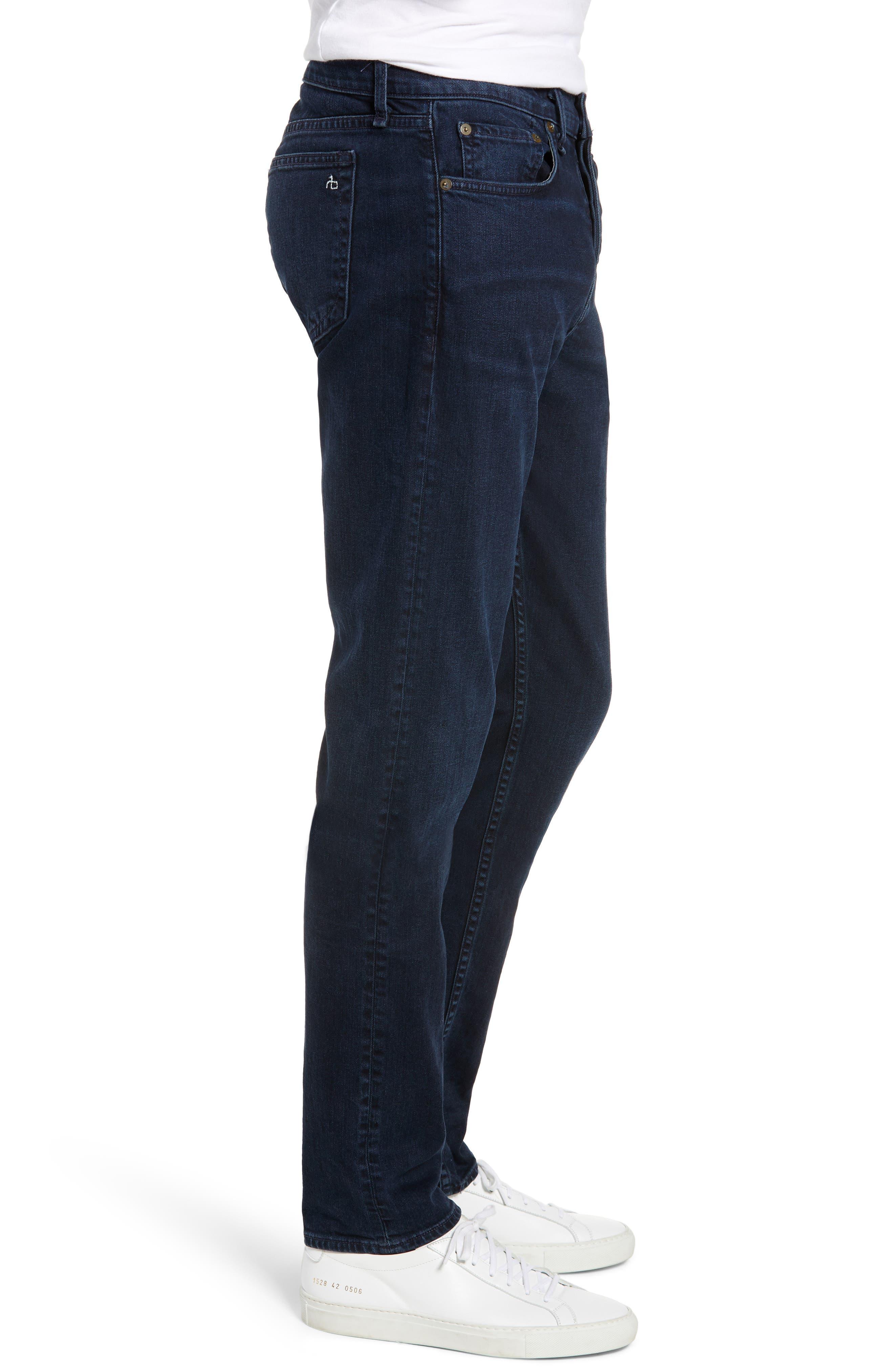 RAG & BONE, Fit 2 Slim Fit Jeans, Alternate thumbnail 4, color, BAYVIEW