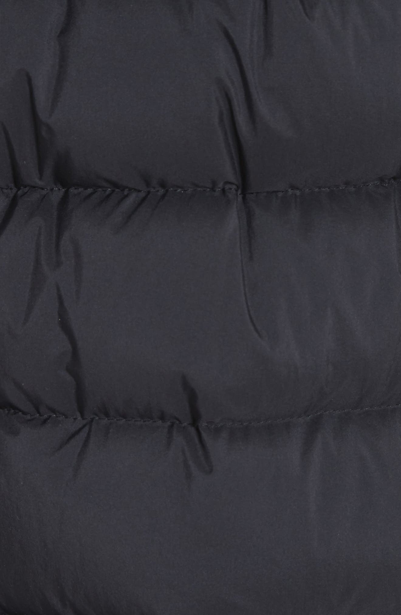 MONCLER, Goeland Quilted Down Jacket, Alternate thumbnail 7, color, 001