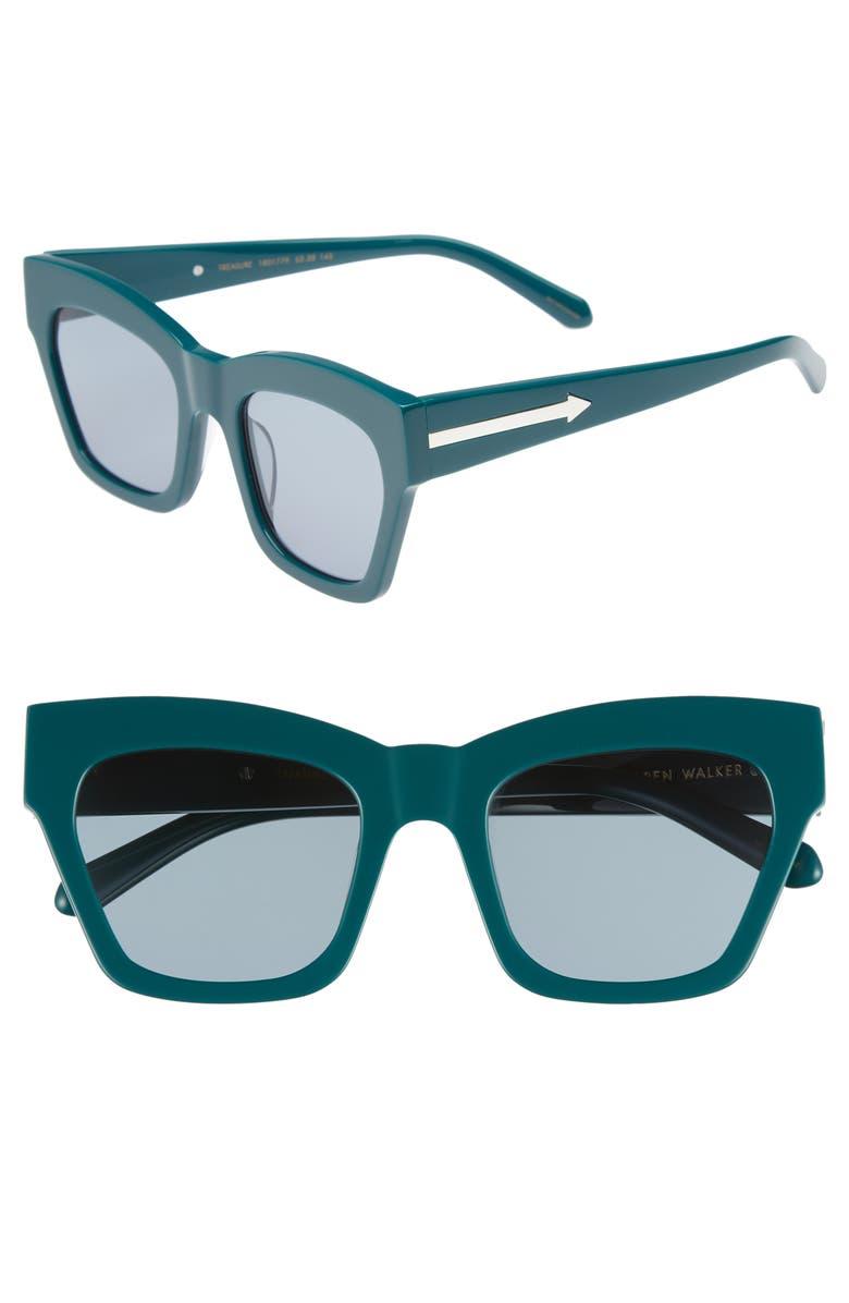 3e160b09e97c Karen Walker Treasure 52mm Cat Eye Sunglasses