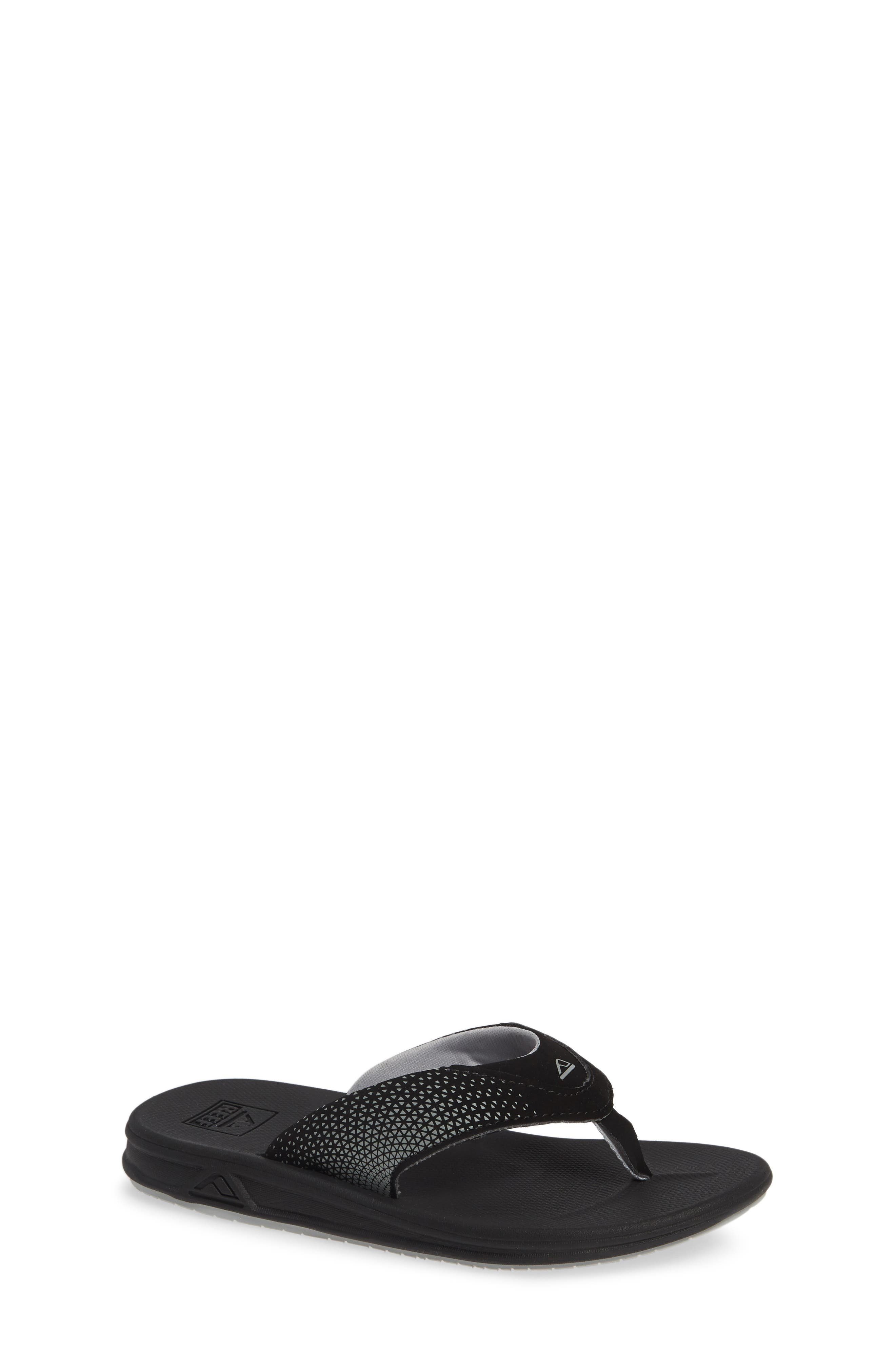 REEF, Grom Rover Water Friendly Sandal, Main thumbnail 1, color, BLACK