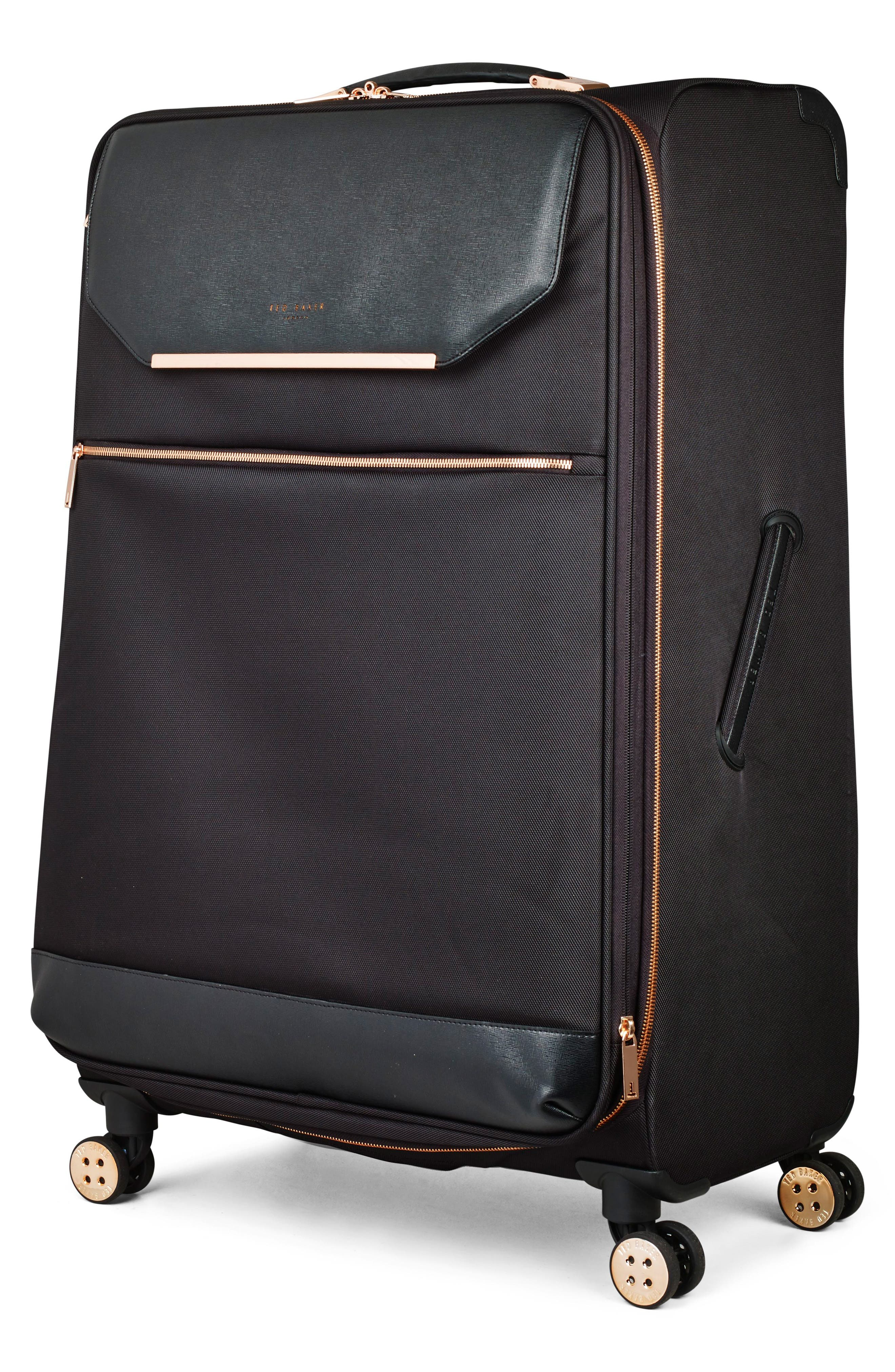 TED BAKER LONDON, 32-Inch Trolley Packing Case, Alternate thumbnail 2, color, BLACK