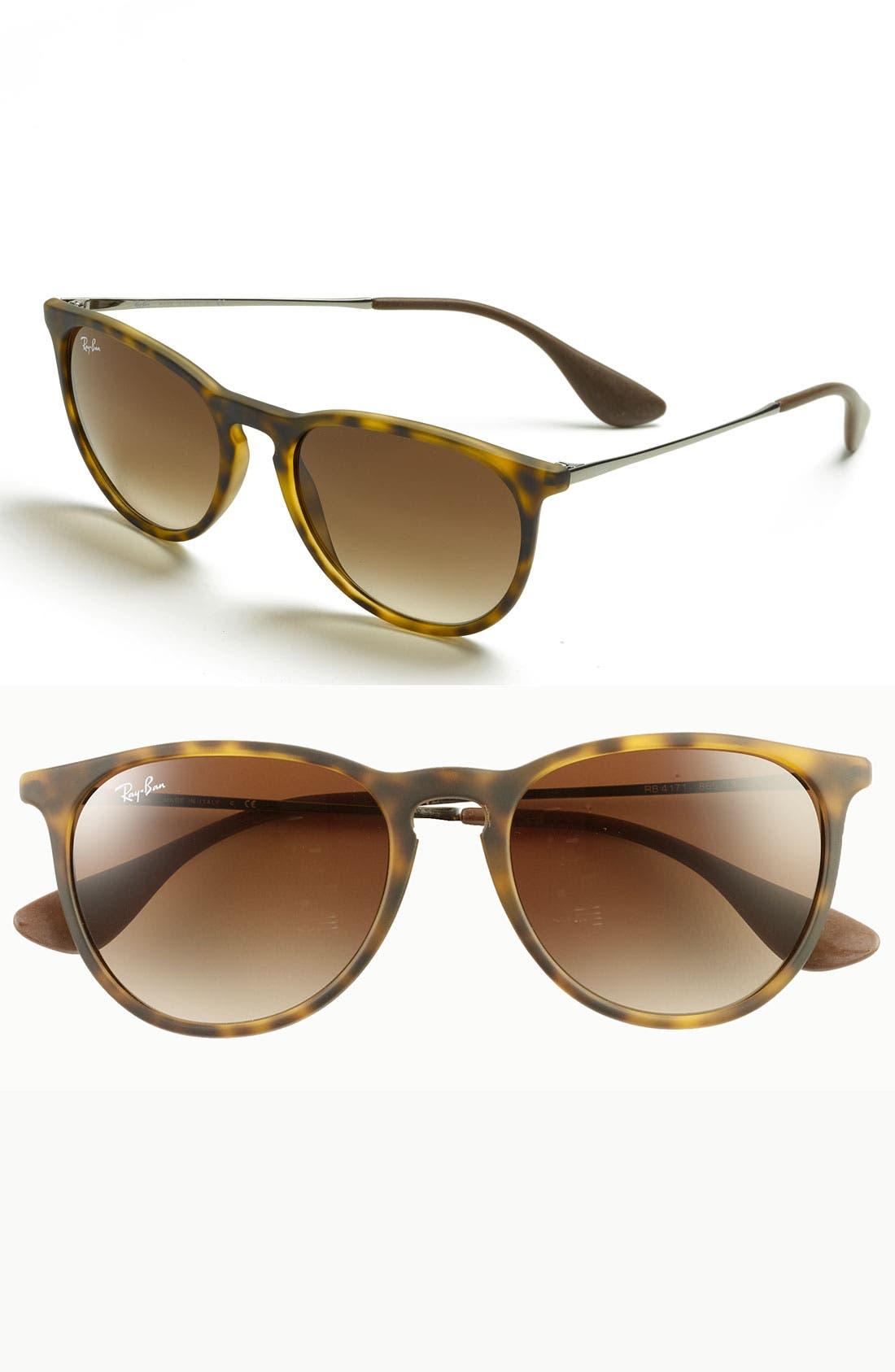 Ray-Ban Erika Classic 5m Sunglasses - Havana/ Brown Gradient