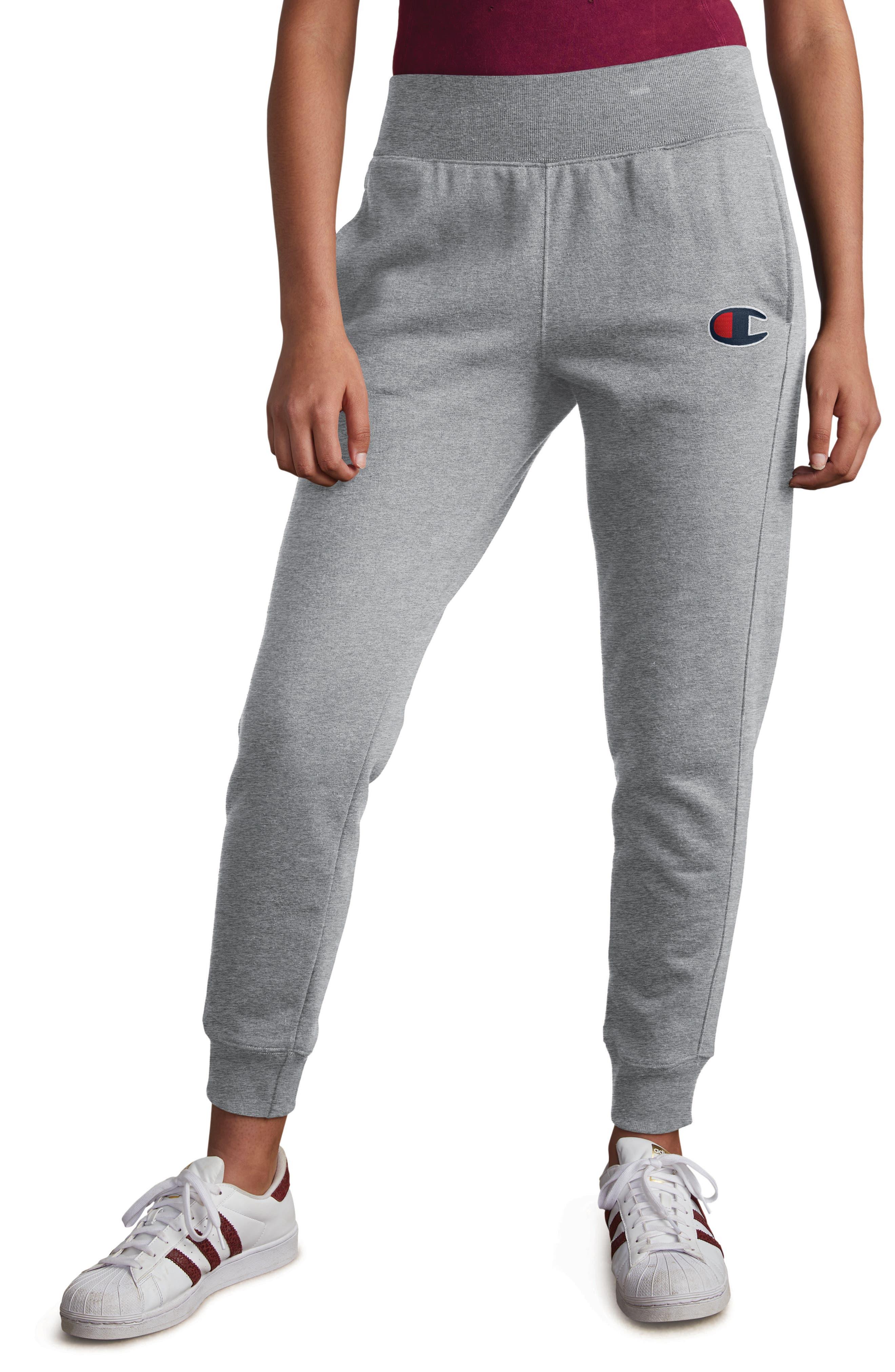 CHAMPION Jogger Pants, Main, color, OXFORD GREY