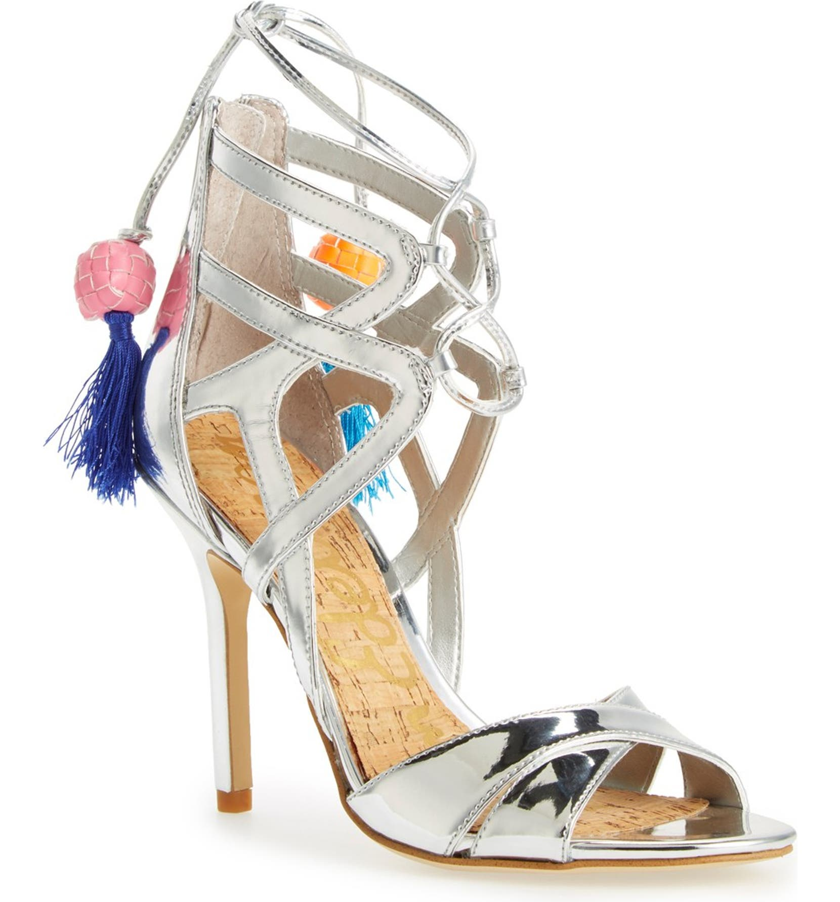 92050c22b Sam Edelman  Azela  Tassel Lace-Up Sandal (Women)