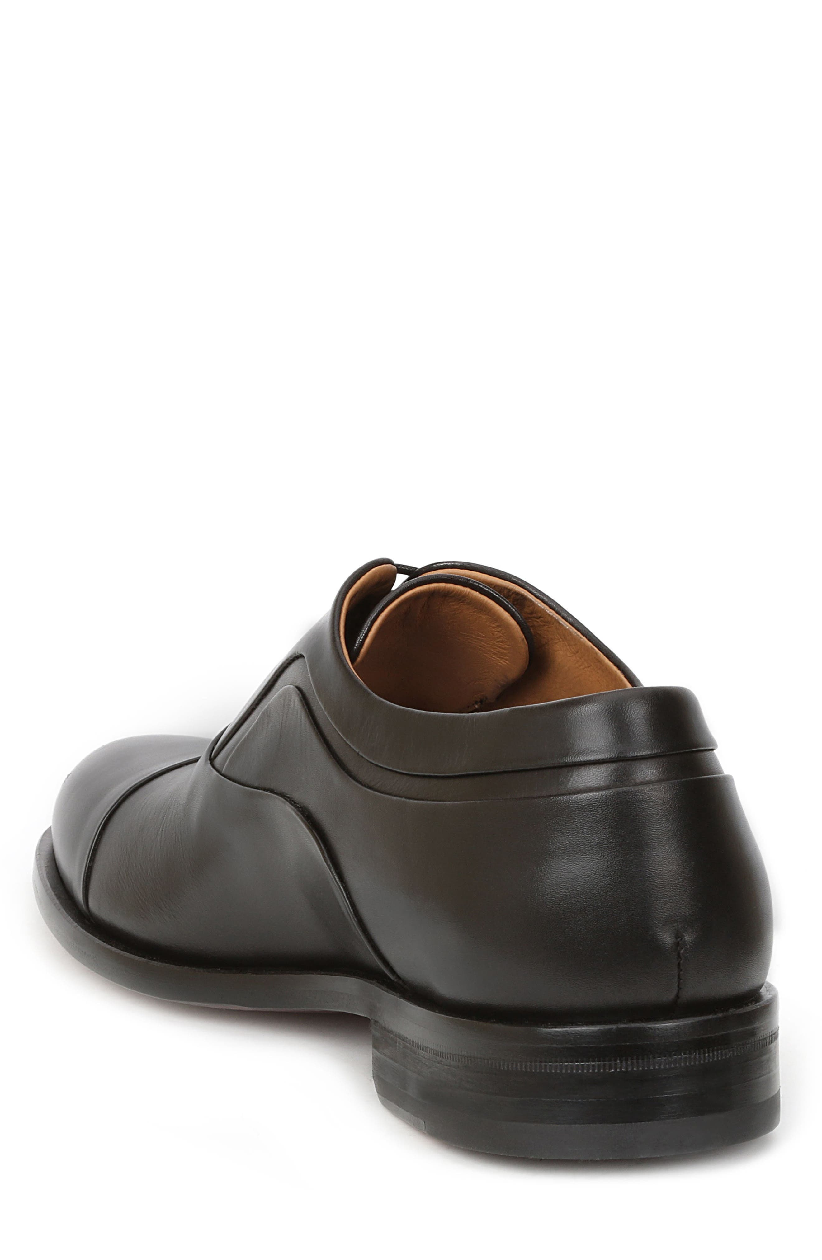 BRUNO MAGLI, Sassiolo Cap Toe Oxford, Alternate thumbnail 2, color, BLACK
