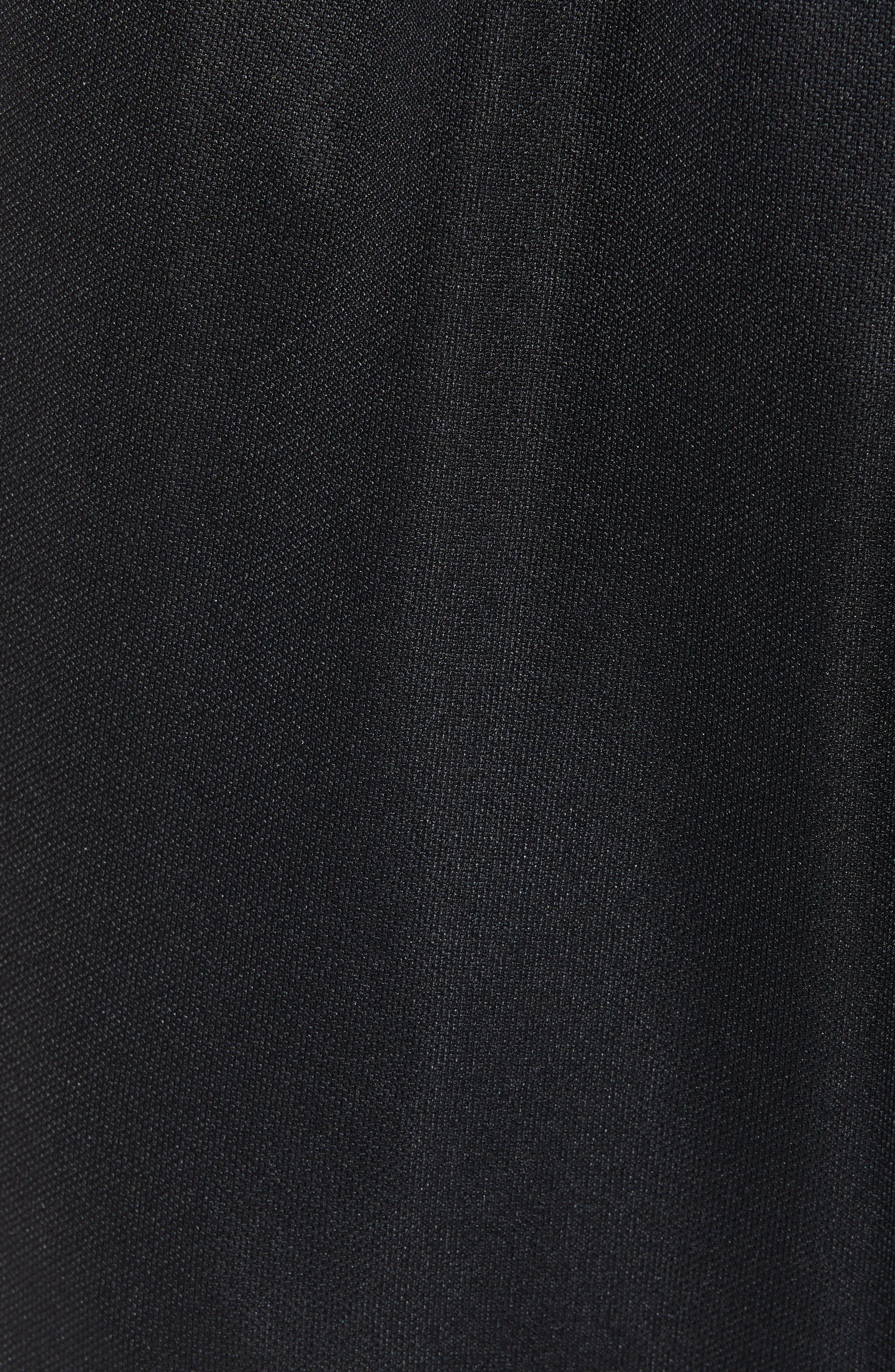 ADIDAS, Tiro Soccer Training Pants, Alternate thumbnail 6, color, BLACK/ WHITE