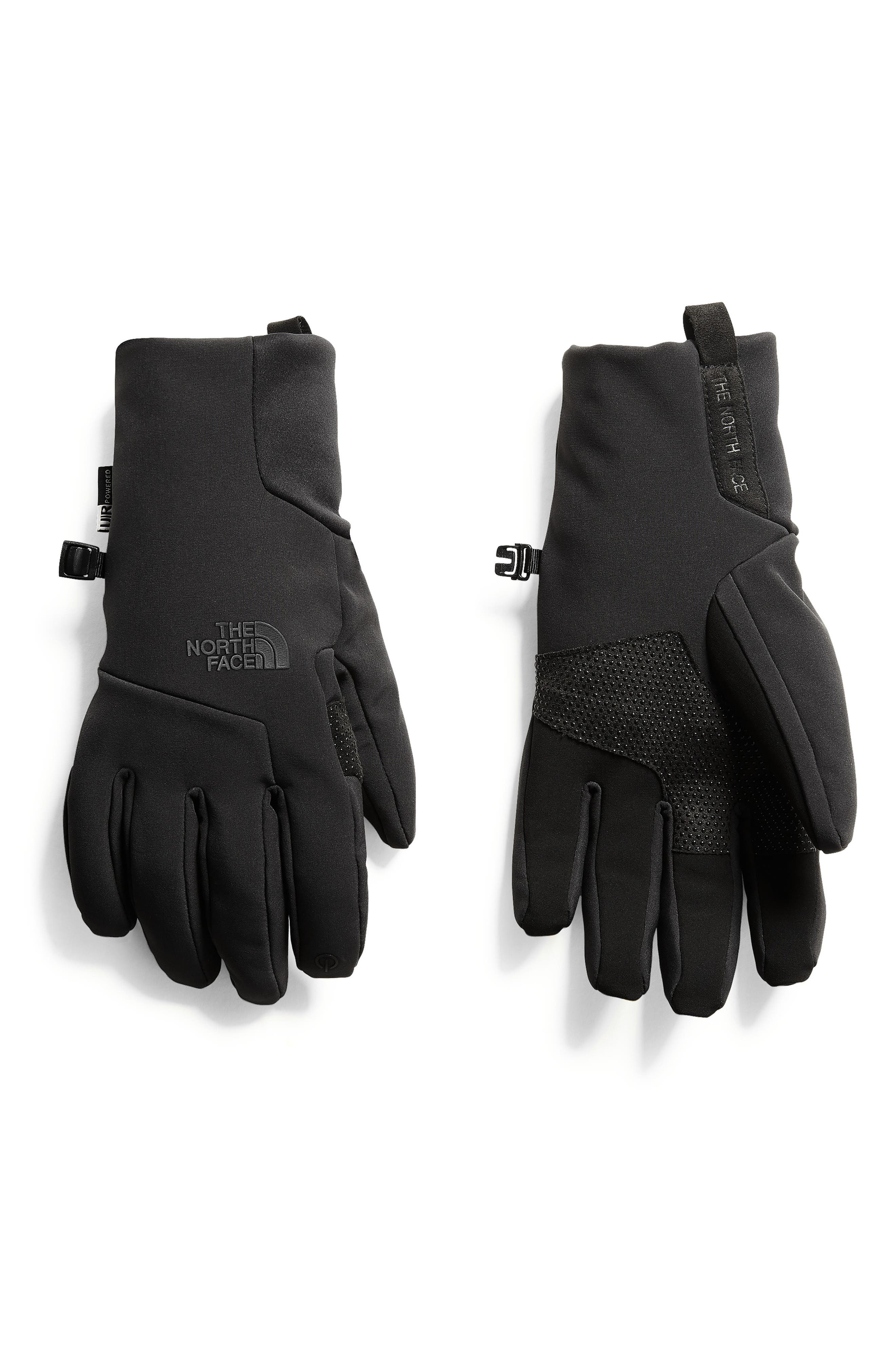 THE NORTH FACE, Apex Etip<sup>™</sup> Tech Gloves, Main thumbnail 1, color, TNF BLACK