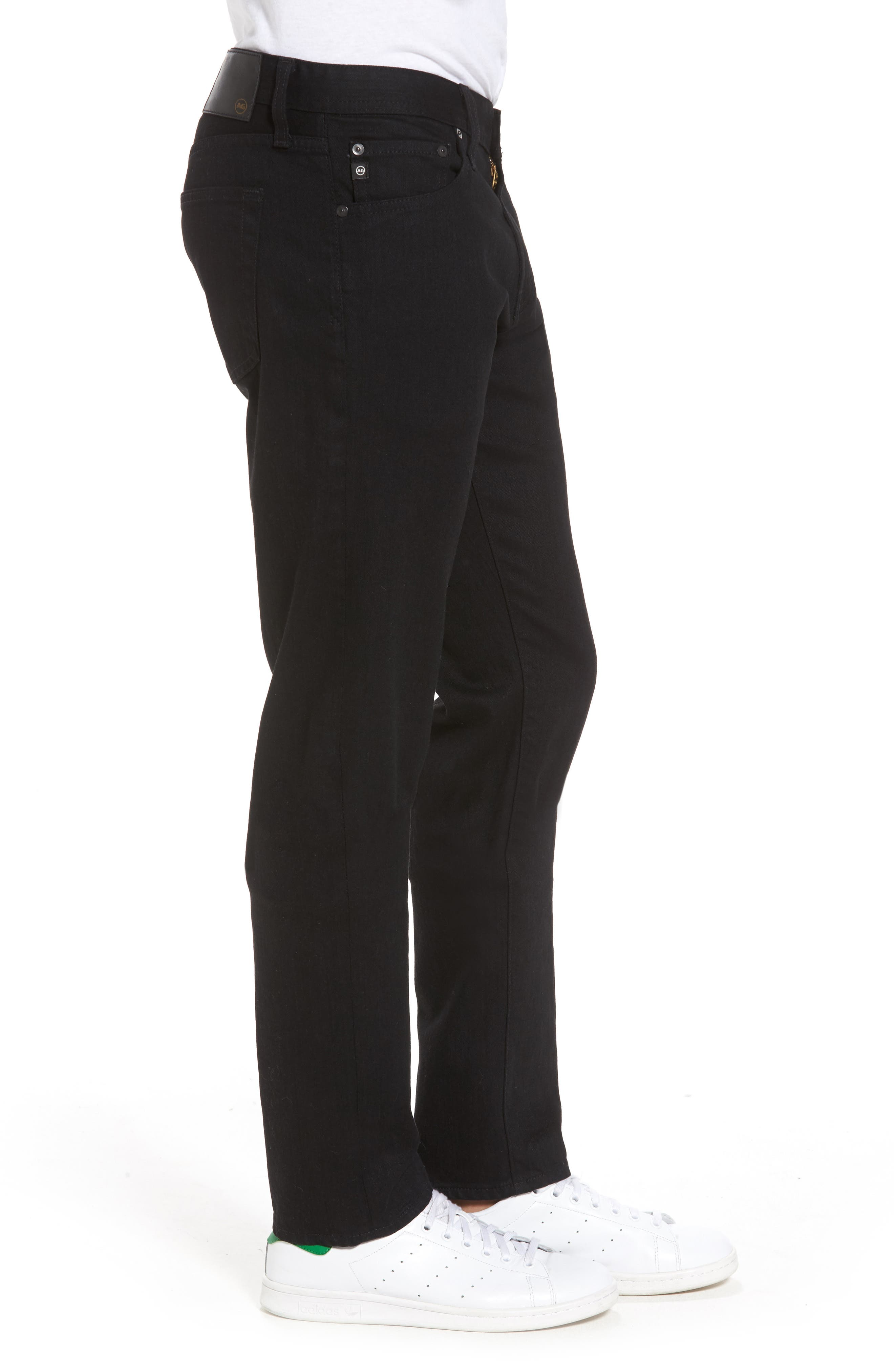 AG, Tellis Slim Fit Jeans, Alternate thumbnail 4, color, DEEP PITCH