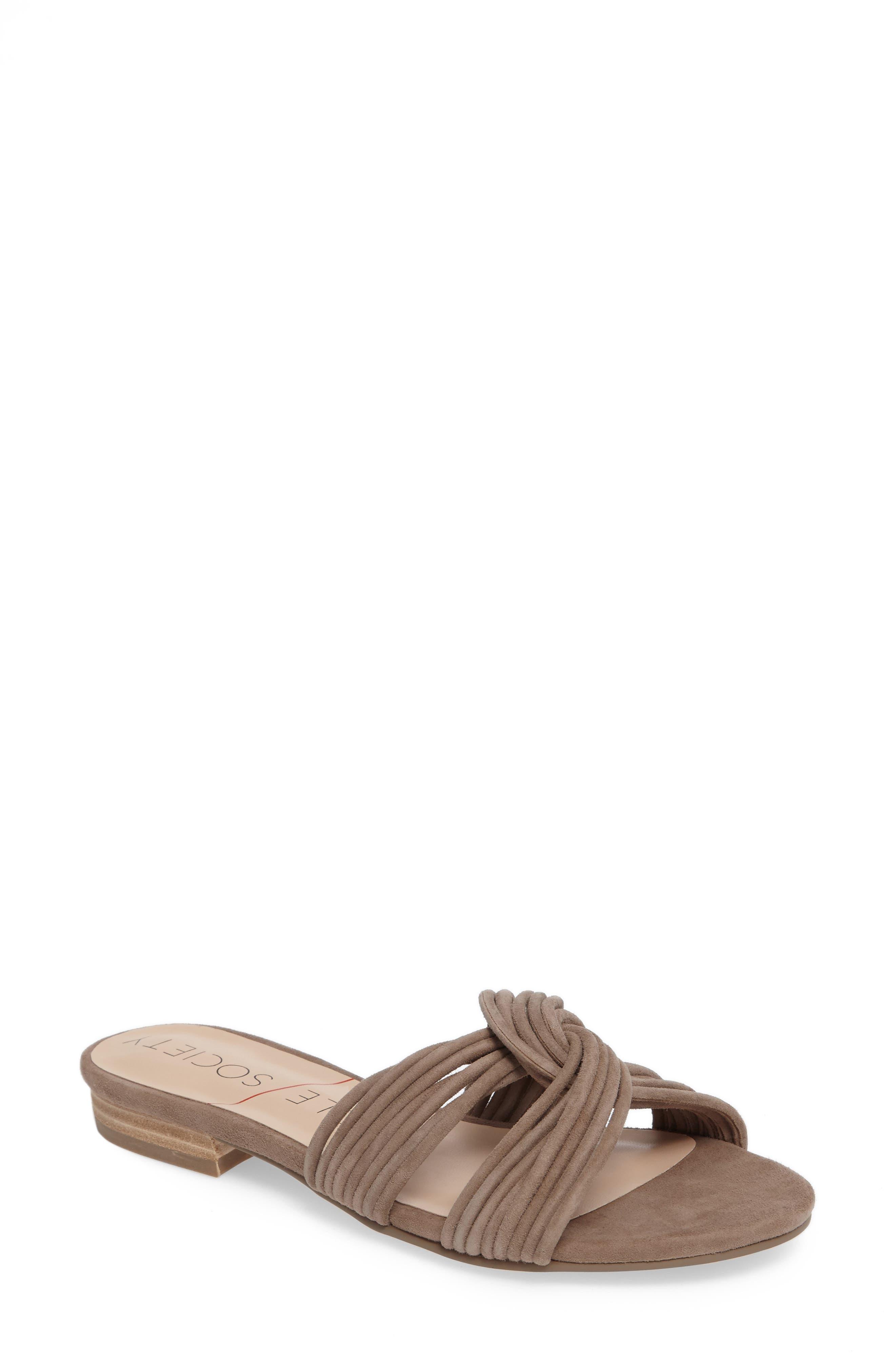 SOLE SOCIETY, Dahlia Flat Sandal, Main thumbnail 1, color, 240