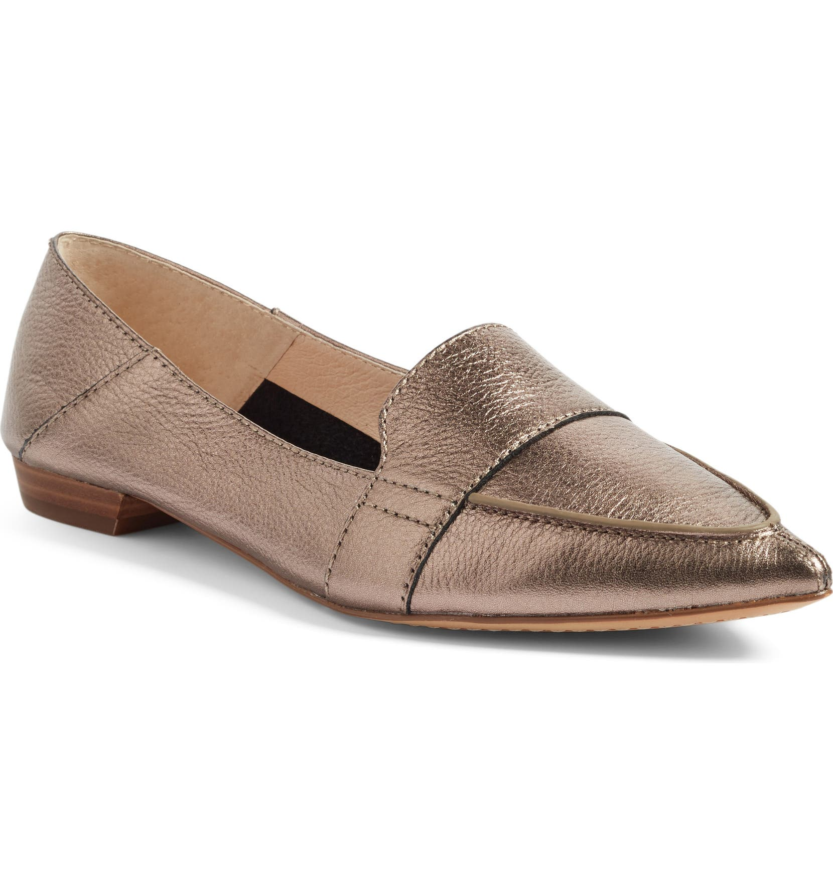 3eee96d57a5 Vince Camuto Maita Pointy Toe Flat (Women) (Nordstrom Exclusive ...