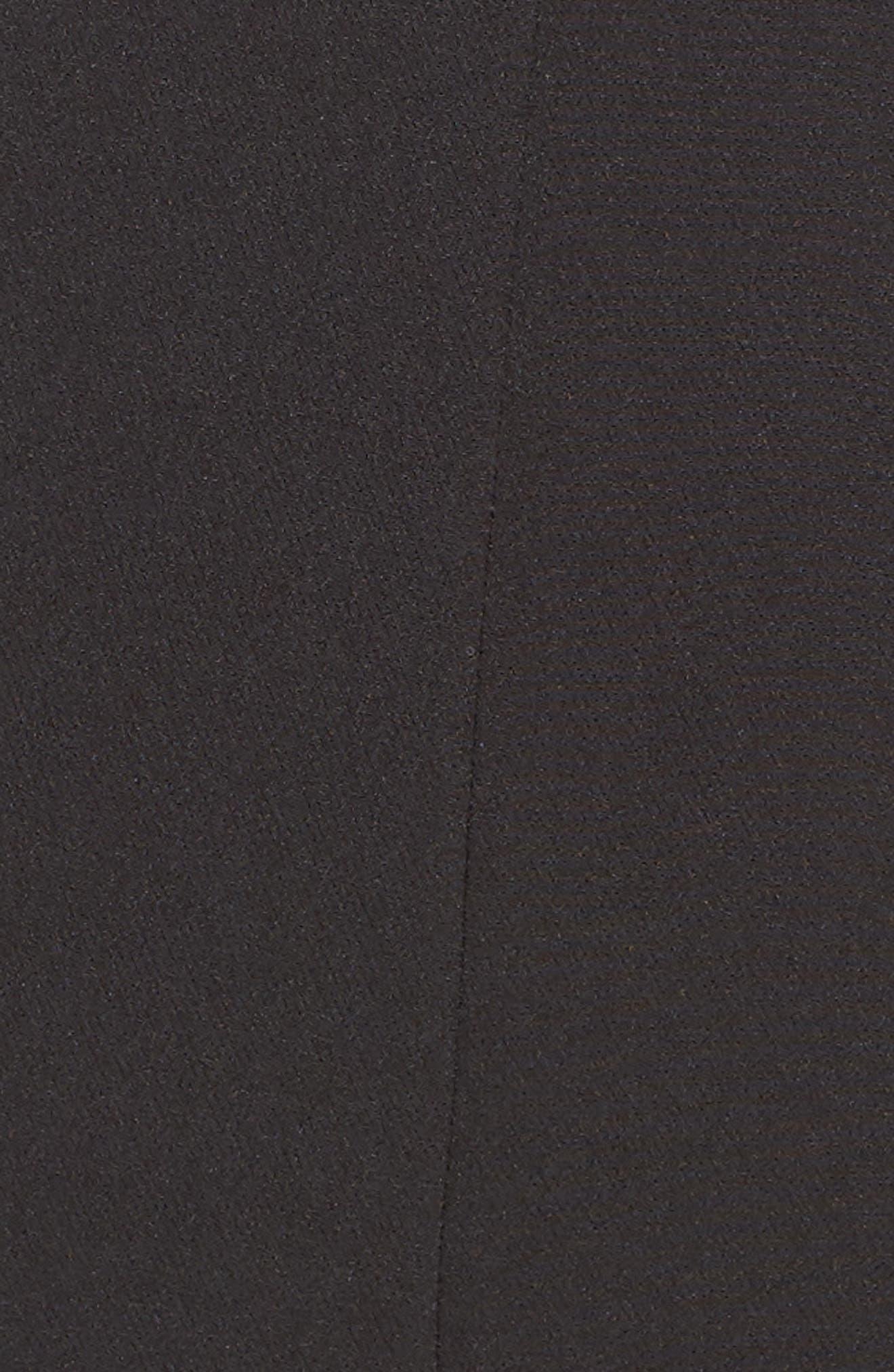 KAY UNGER, Jumpsuit Gown, Alternate thumbnail 7, color, 001