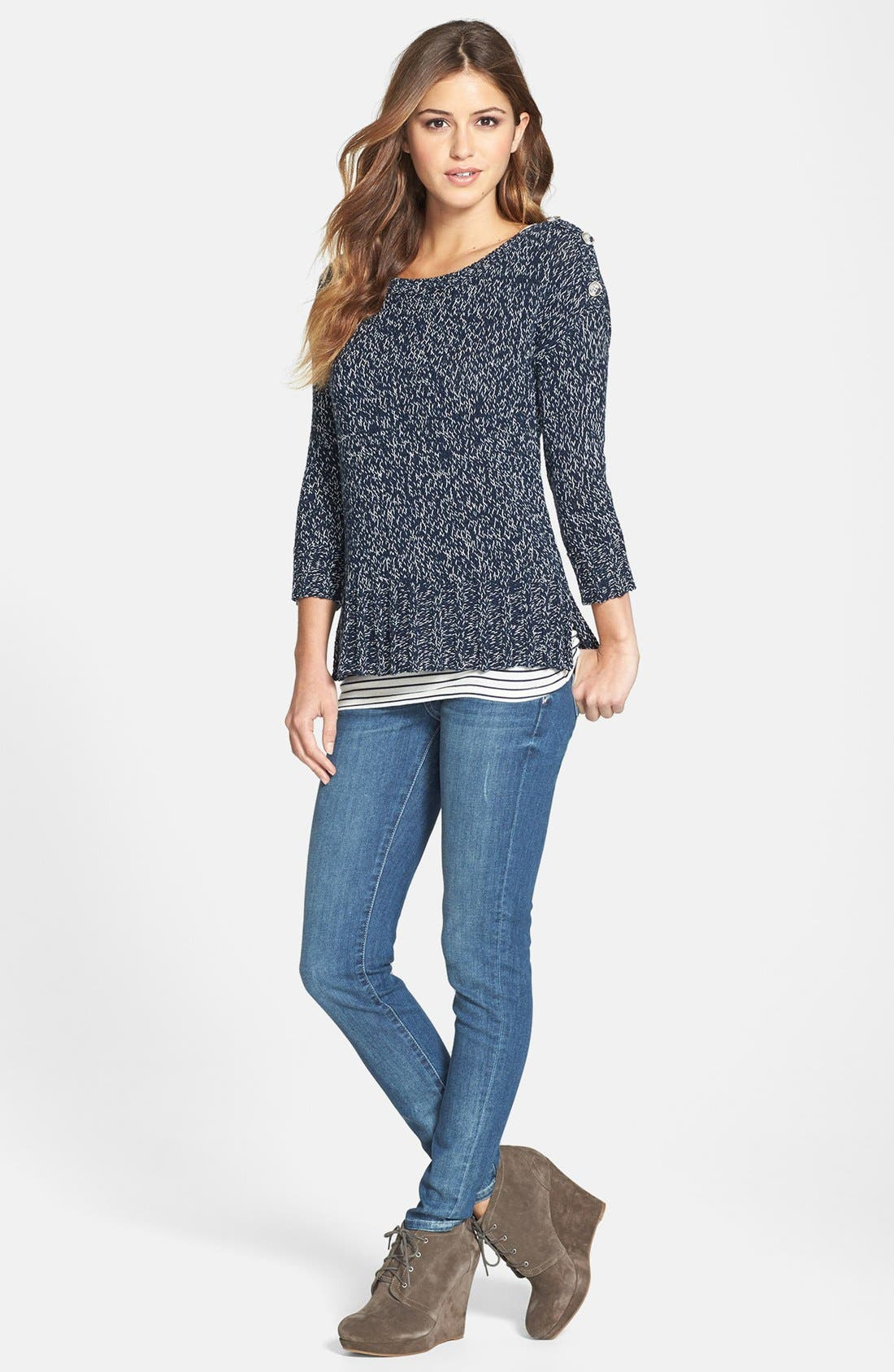 KUT FROM THE KLOTH, 'Mia' Skinny Jeans, Alternate thumbnail 2, color, 433