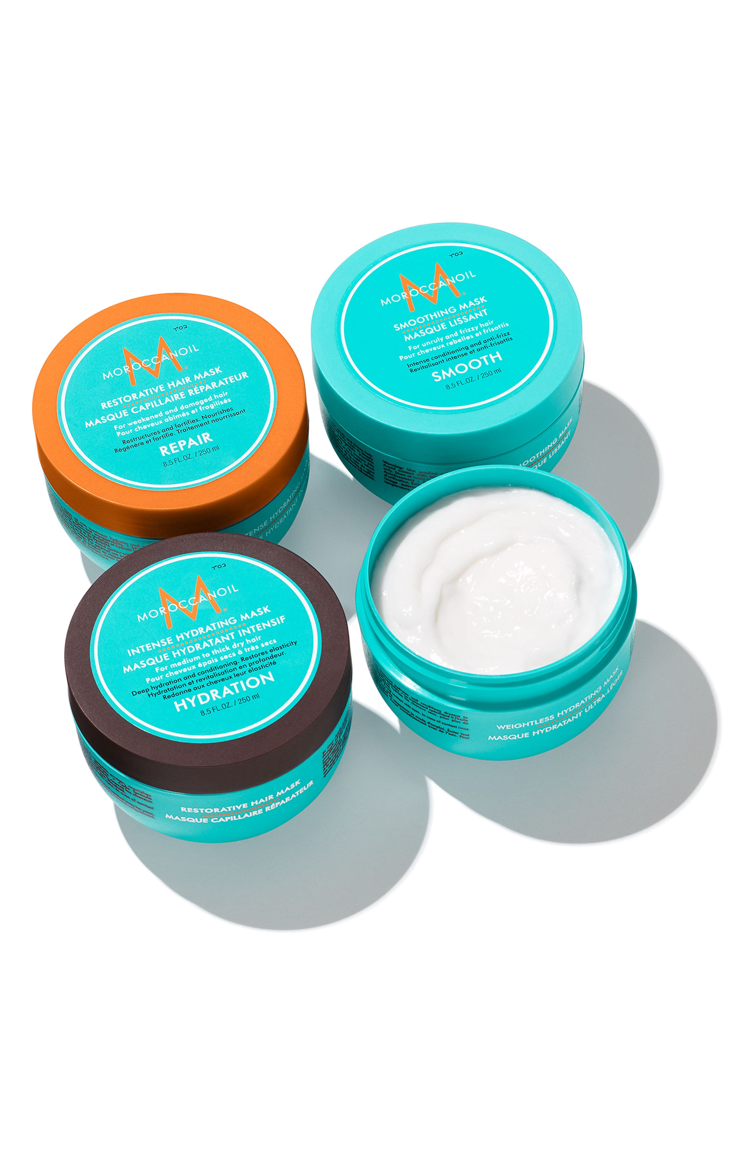 MOROCCANOIL<SUP>®</SUP>, Weightless Hydrating Mask, Alternate thumbnail 3, color, NO COLOR