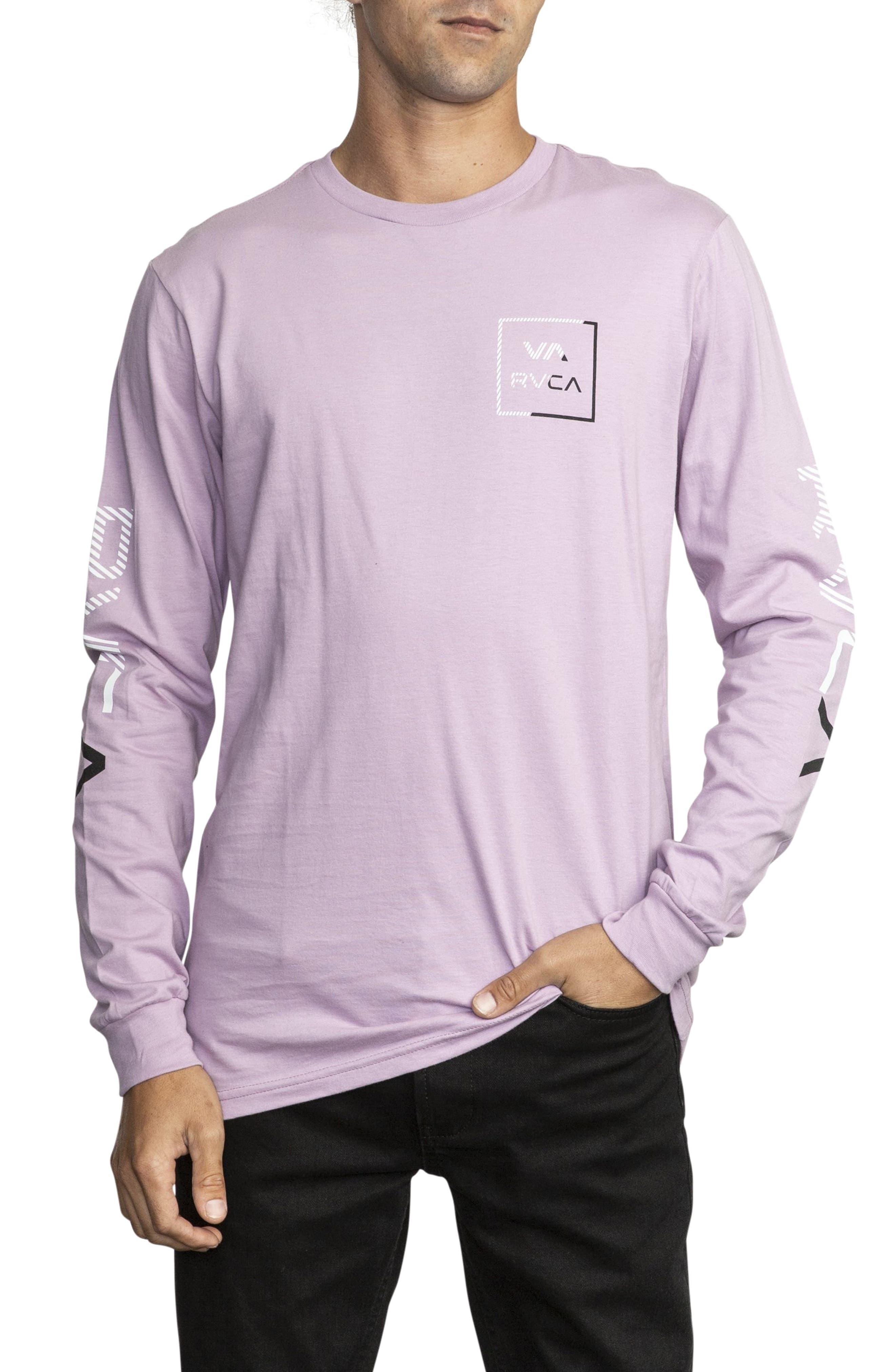 RVCA Segment Long Sleeve T-Shirt, Main, color, 531