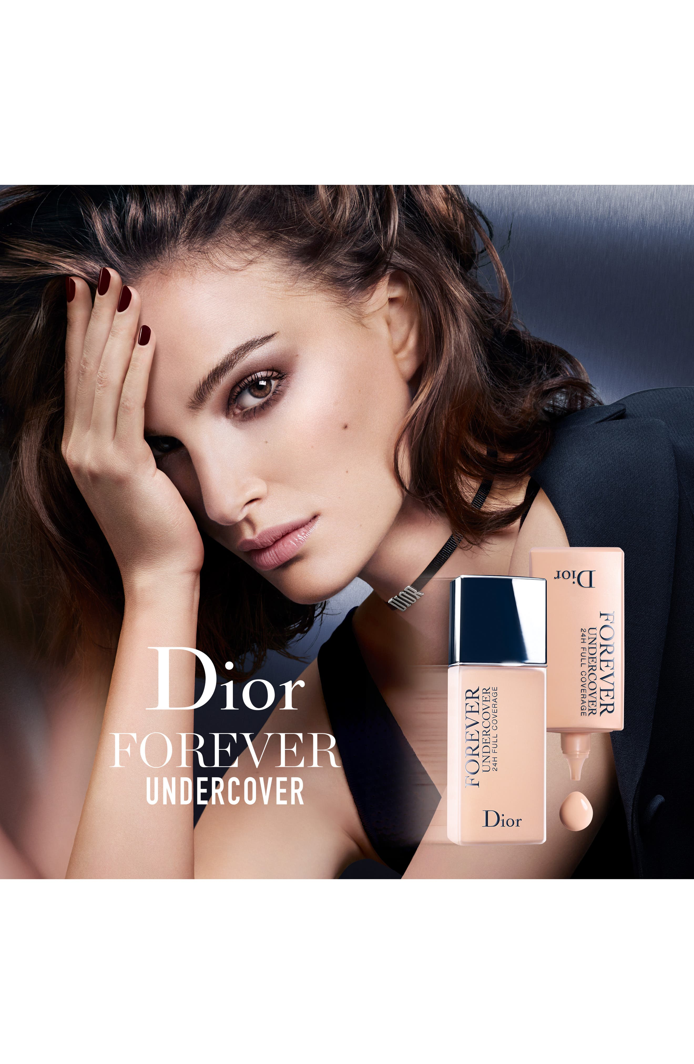 DIOR, Diorskin Forever Undercover 24-Hour Full Coverage Water-Based Foundation, Alternate thumbnail 8, color, 051 PRALINE