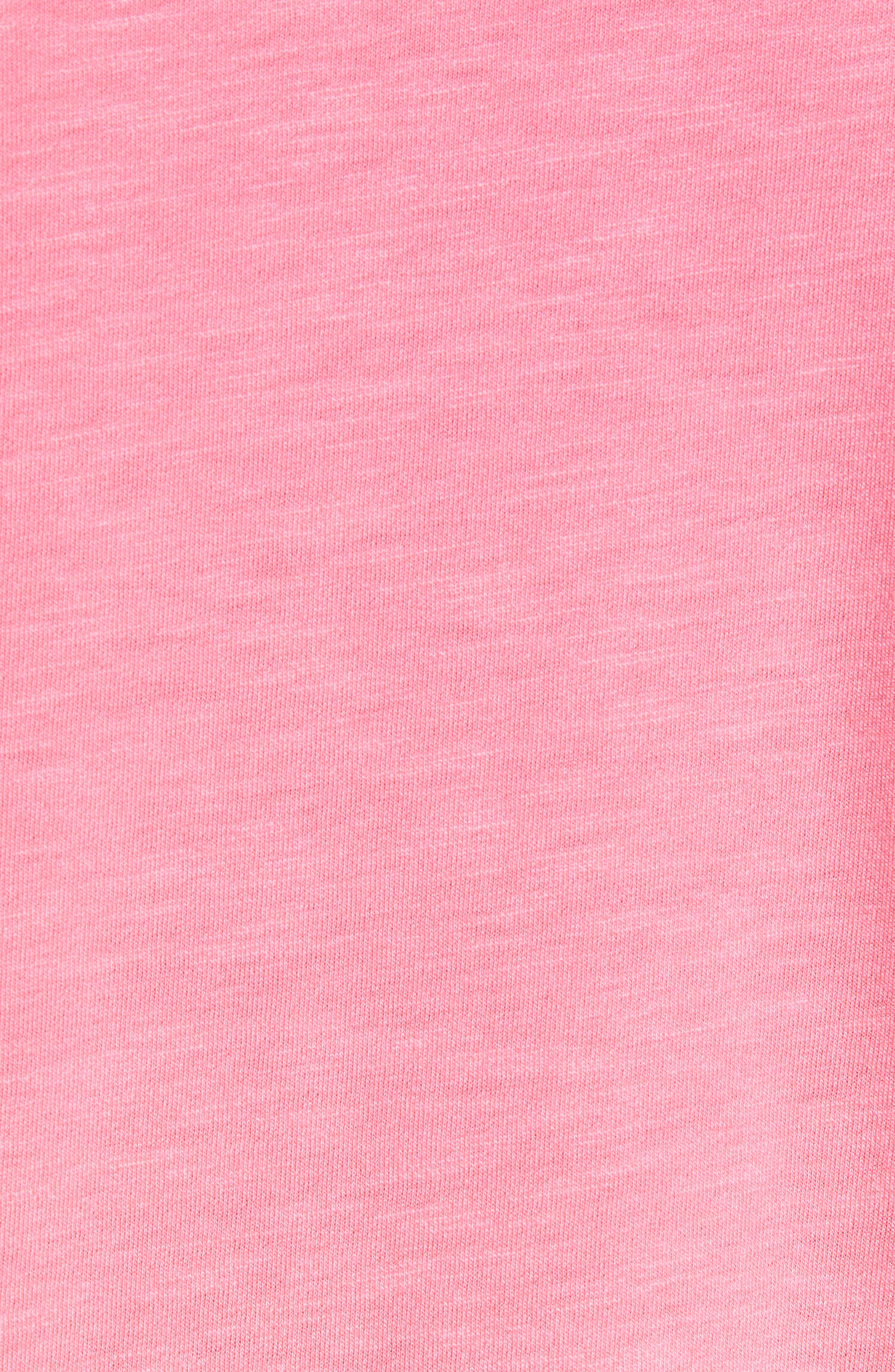 ZACHARY PRELL, Shelter Island Dip Dye Polo, Alternate thumbnail 5, color, BRIGHT PINK