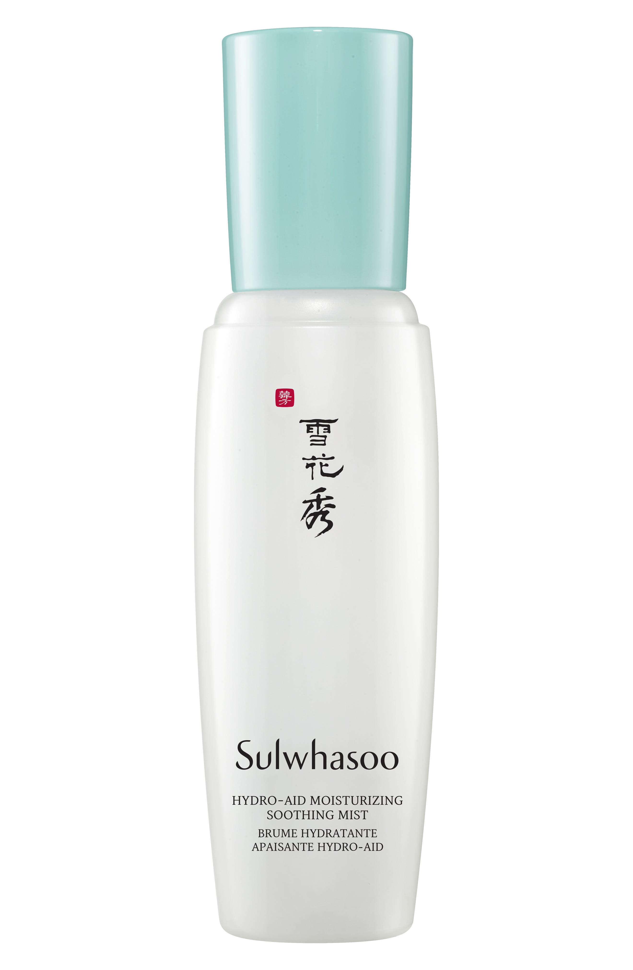 SULWHASOO Hydro-Aid Moisturizing Soothing Mist, Main, color, NO COLOR