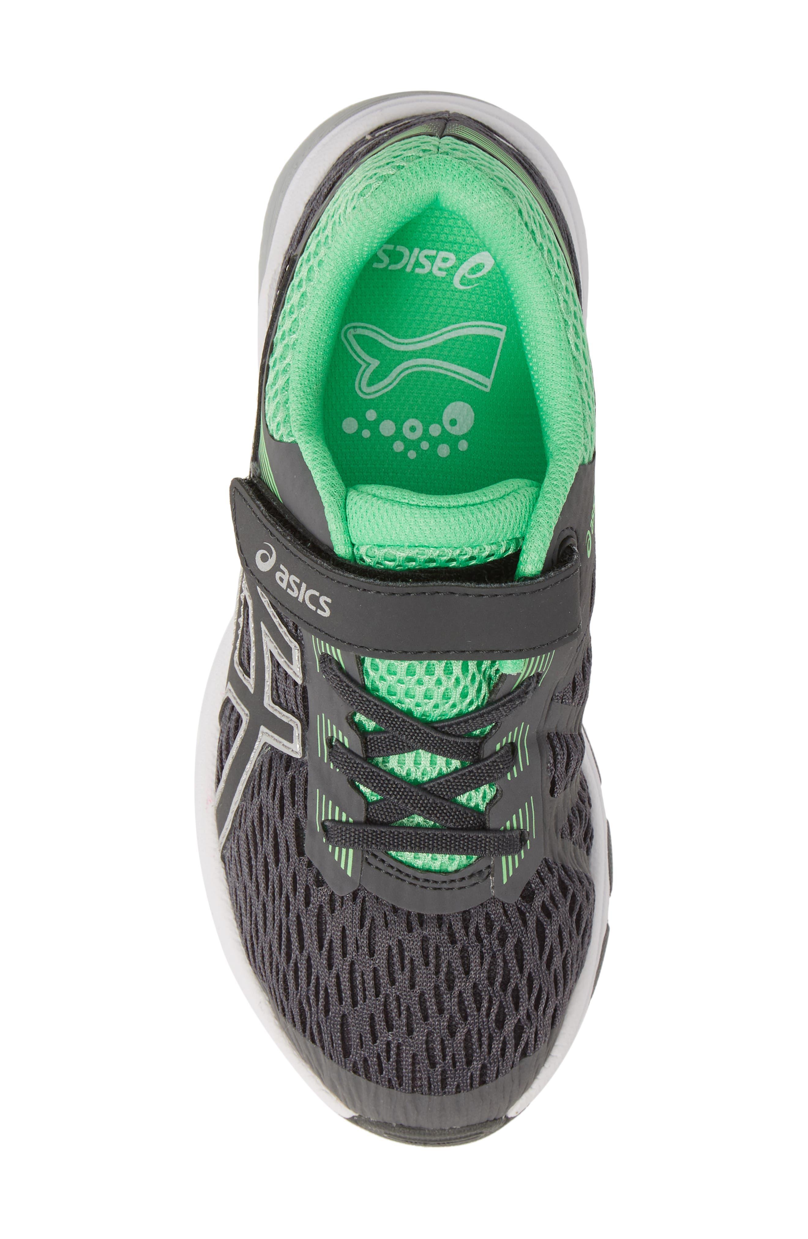 ASICS<SUP>®</SUP>, GT 1000 7 Running Shoe, Alternate thumbnail 5, color, DARK GREY/ DARK GREY