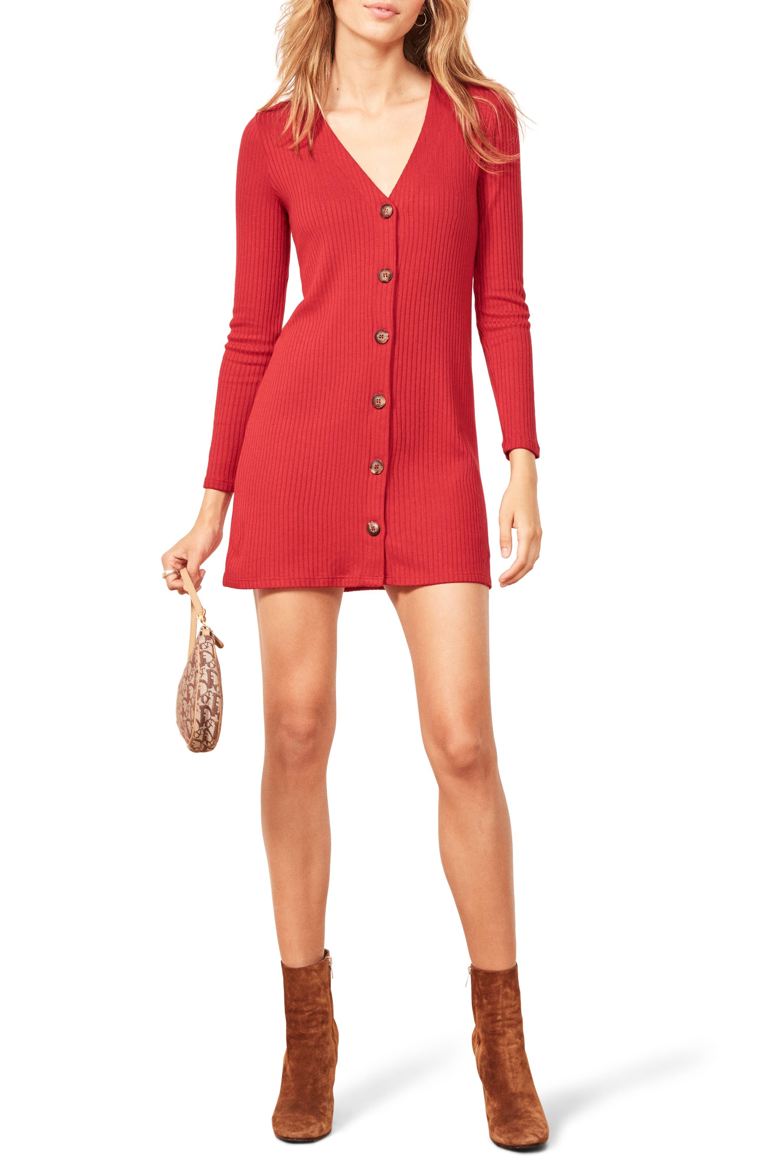 552155db854 Reformation Agatha Dress