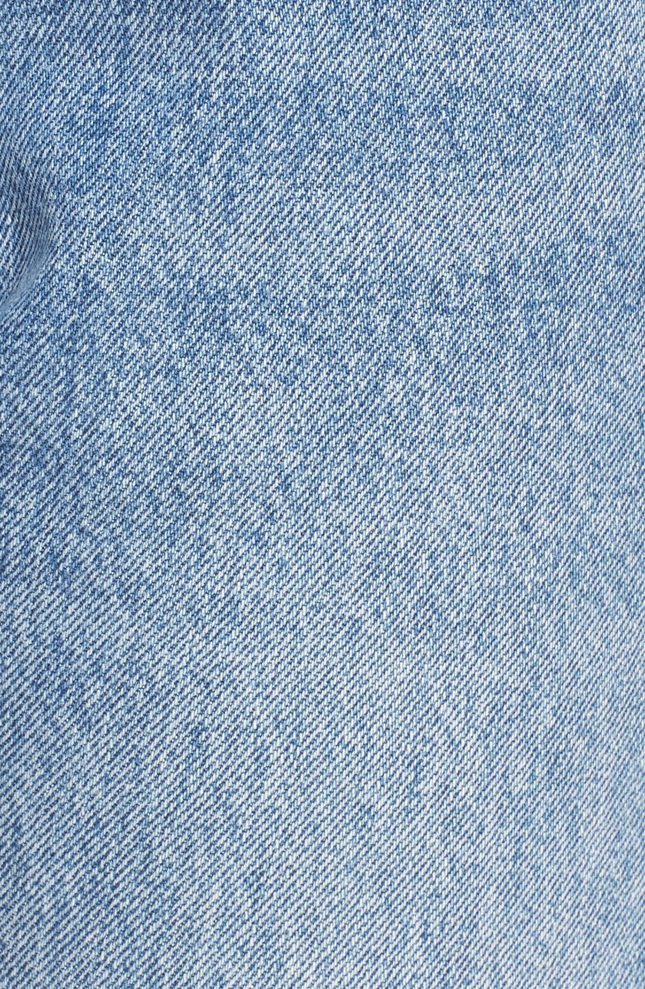 LEVI'S<SUP>®</SUP>, Levis<sup>®</sup> 501 Ripped Skinny Jeans, Alternate thumbnail 5, color, 400