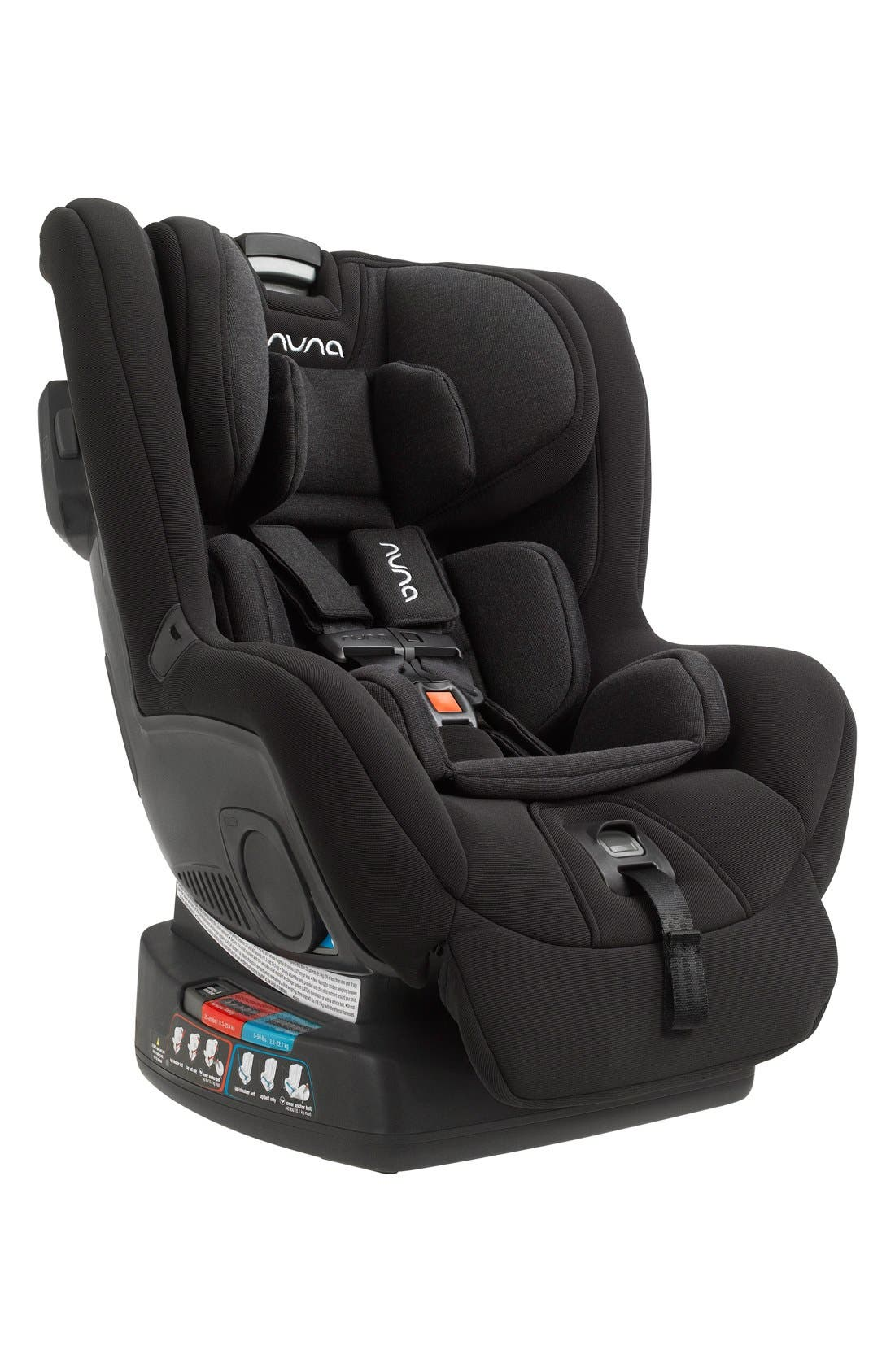 NUNA, RAVA<sup>™</sup> Convertible Car Seat, Alternate thumbnail 2, color, 001