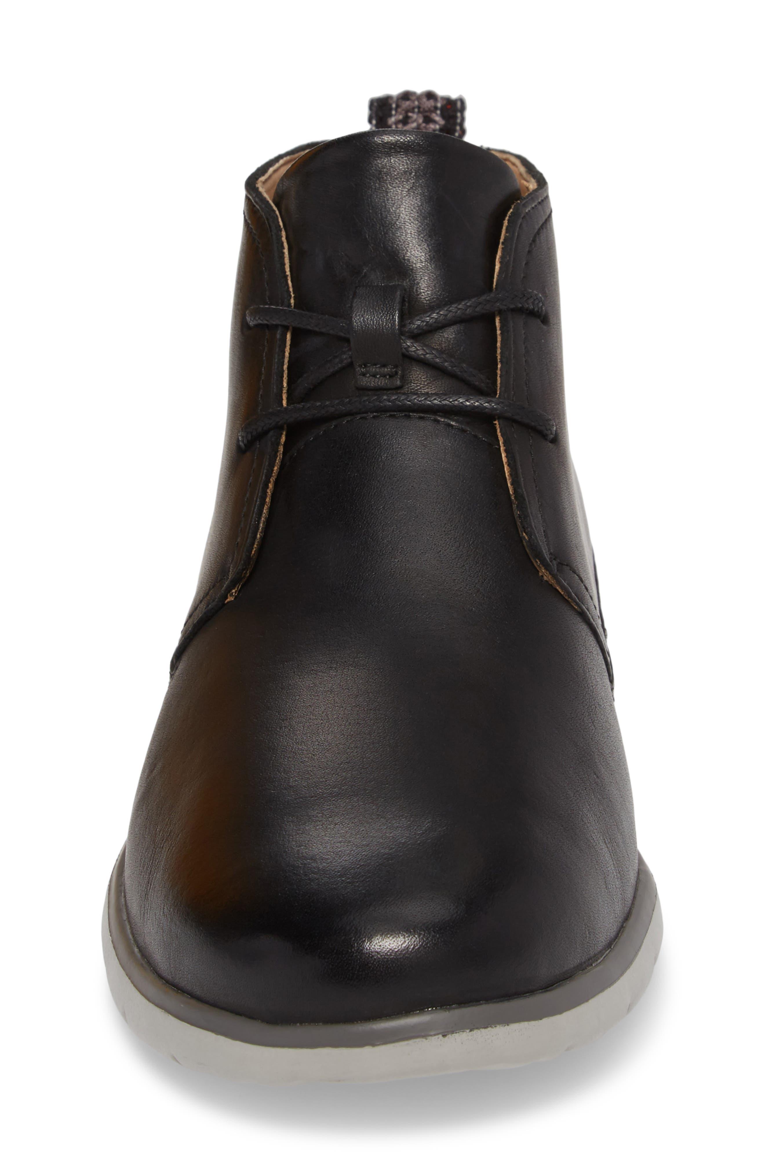 UGG<SUP>®</SUP>, Freamon Chukka Boot, Alternate thumbnail 4, color, BLACK