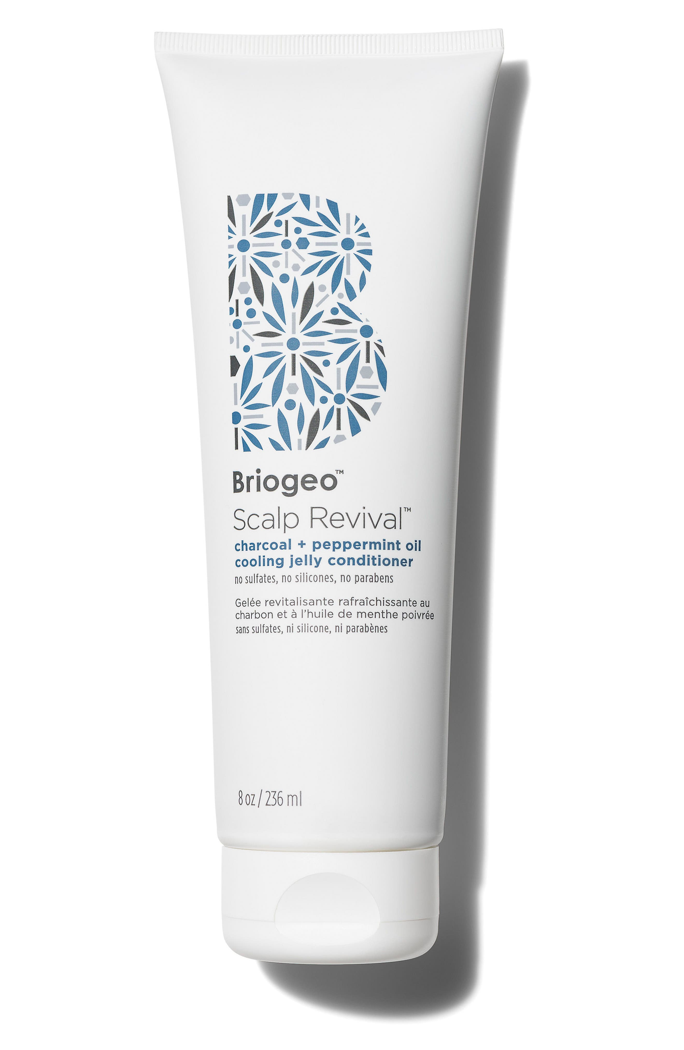 BRIOGEO Scalp Revival Charcoal + Peppermint Oil Cooling Jelly Conditioner, Main, color, NO COLOR