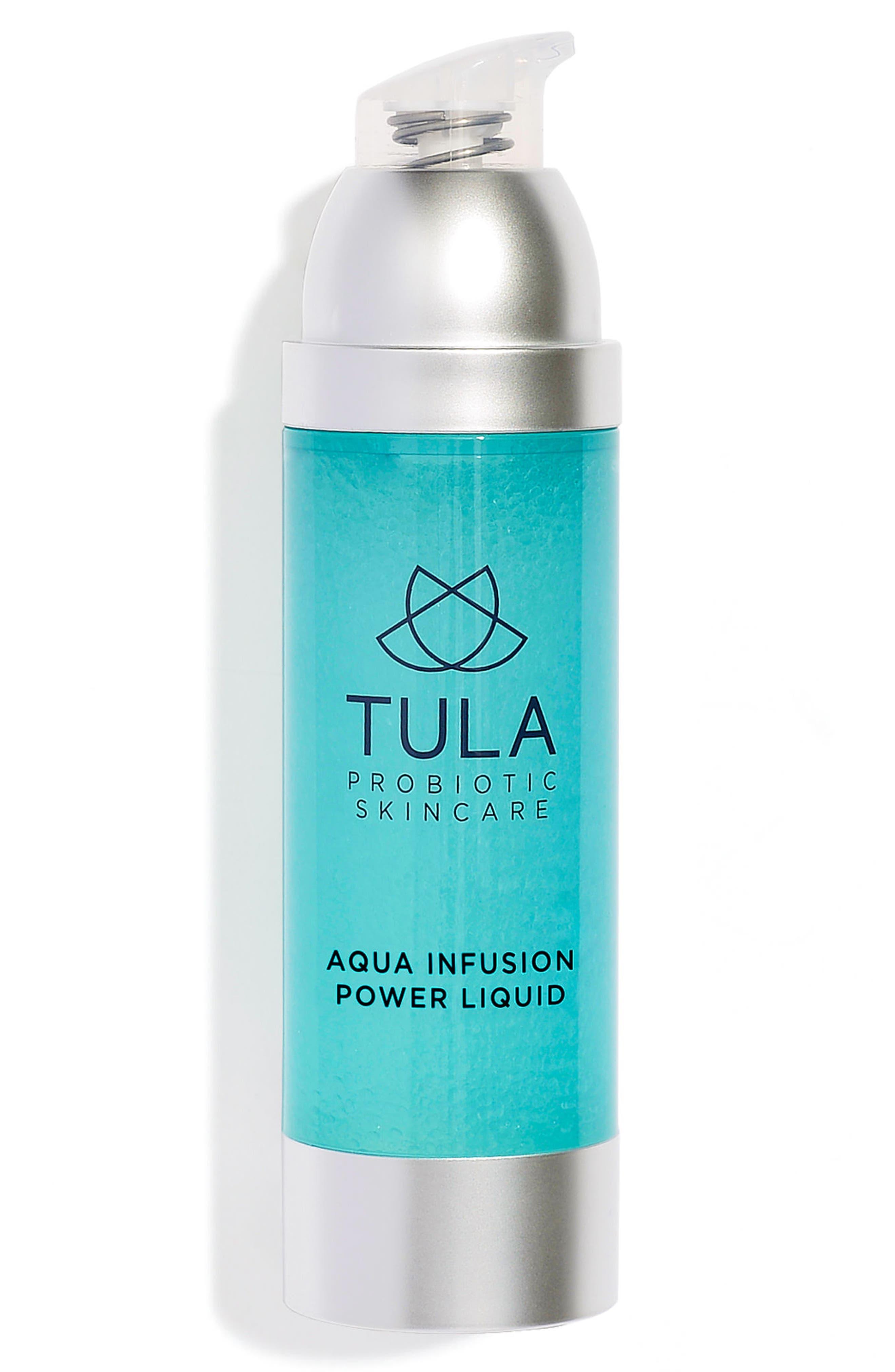 TULA PROBIOTIC SKINCARE, Aqua Infusion Power Liquid, Alternate thumbnail 2, color, NO COLOR