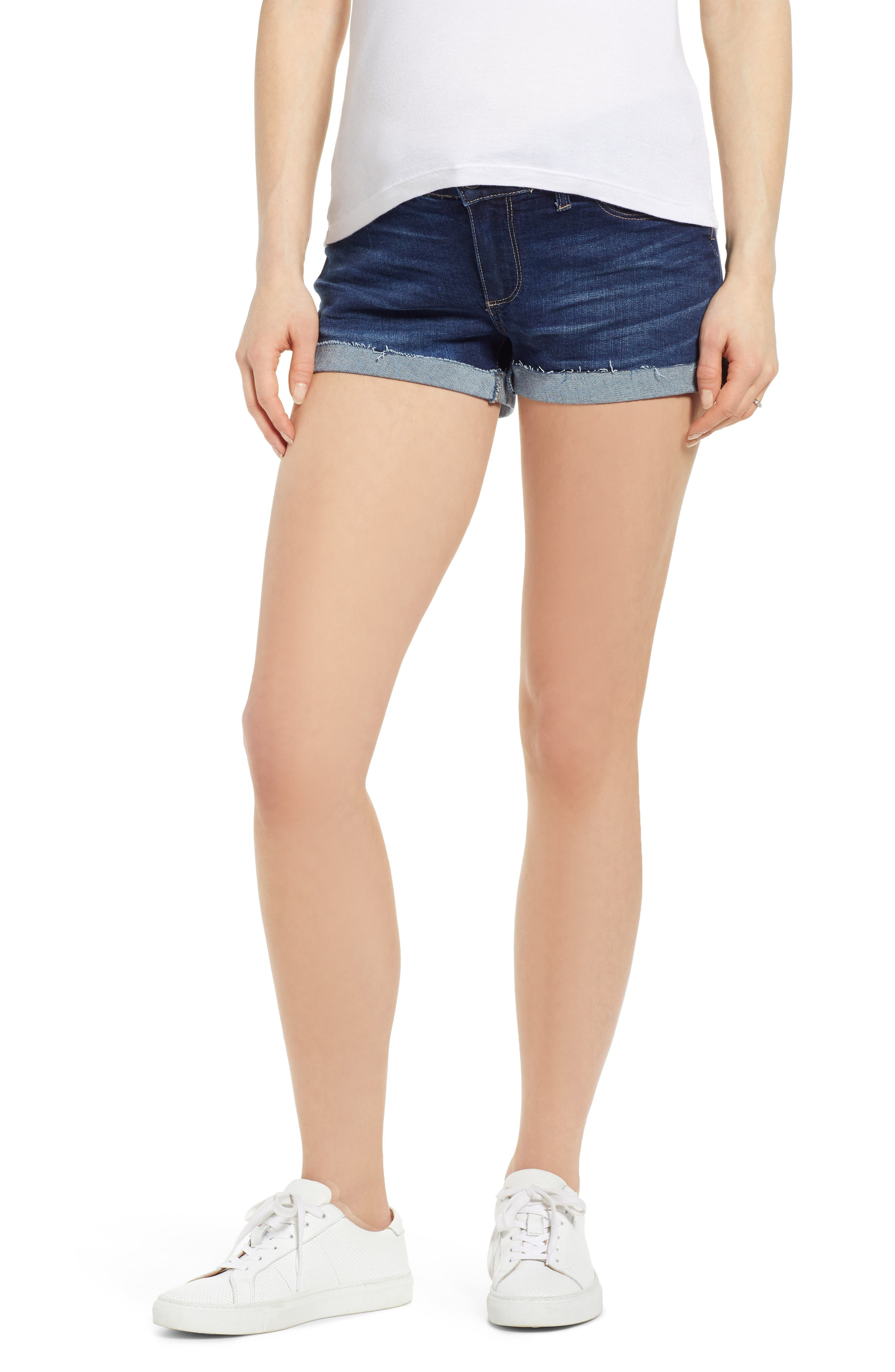 Women's Paige Transcend Vintage - Jimmy Jimmy Denim Maternity Shorts