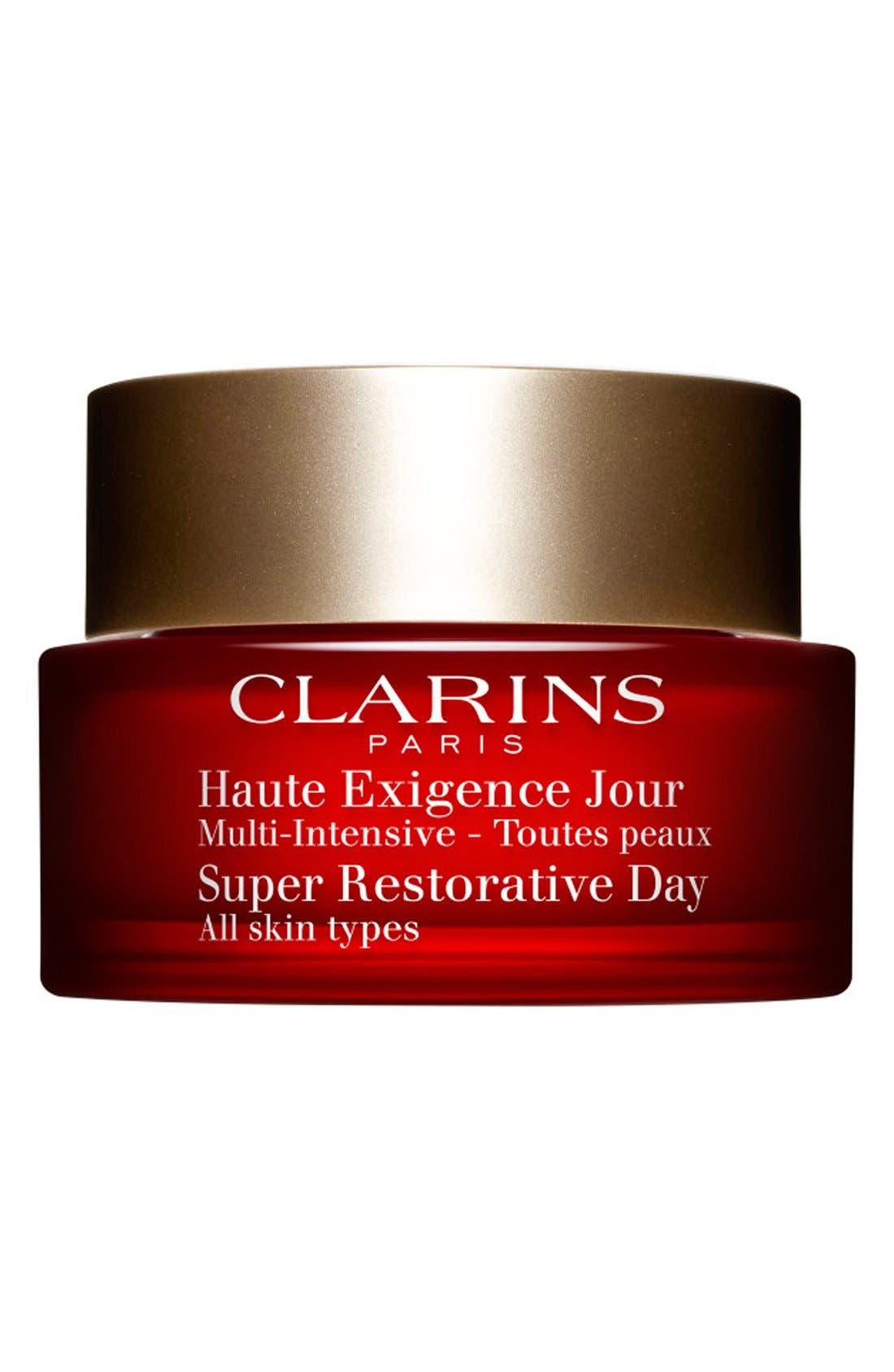 CLARINS, Super Restorative Day Cream, Main thumbnail 1, color, NO COLOR