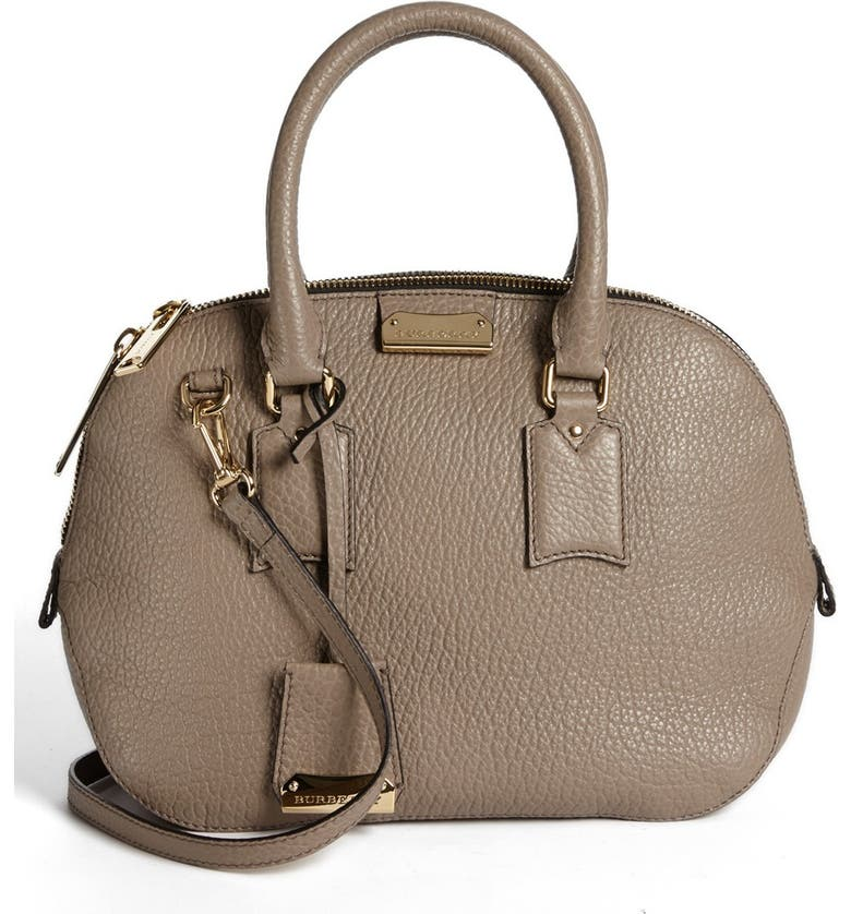 3a3e60c585ba Burberry  Small Heritage Orchard  Leather Satchel