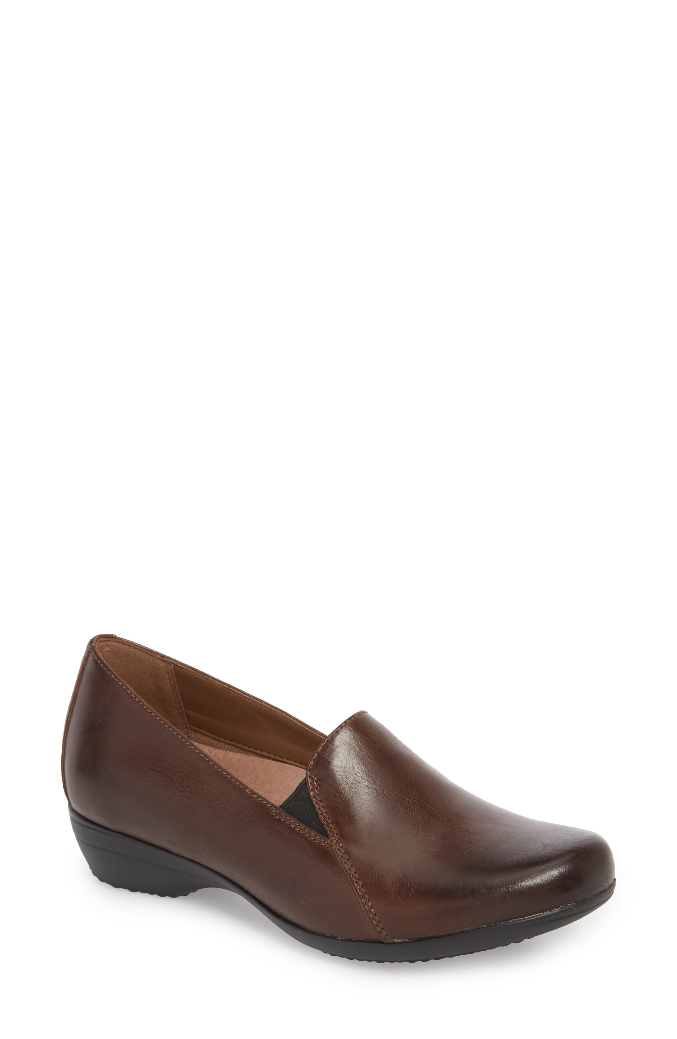 Dansko Farah Loafer-7- Brown