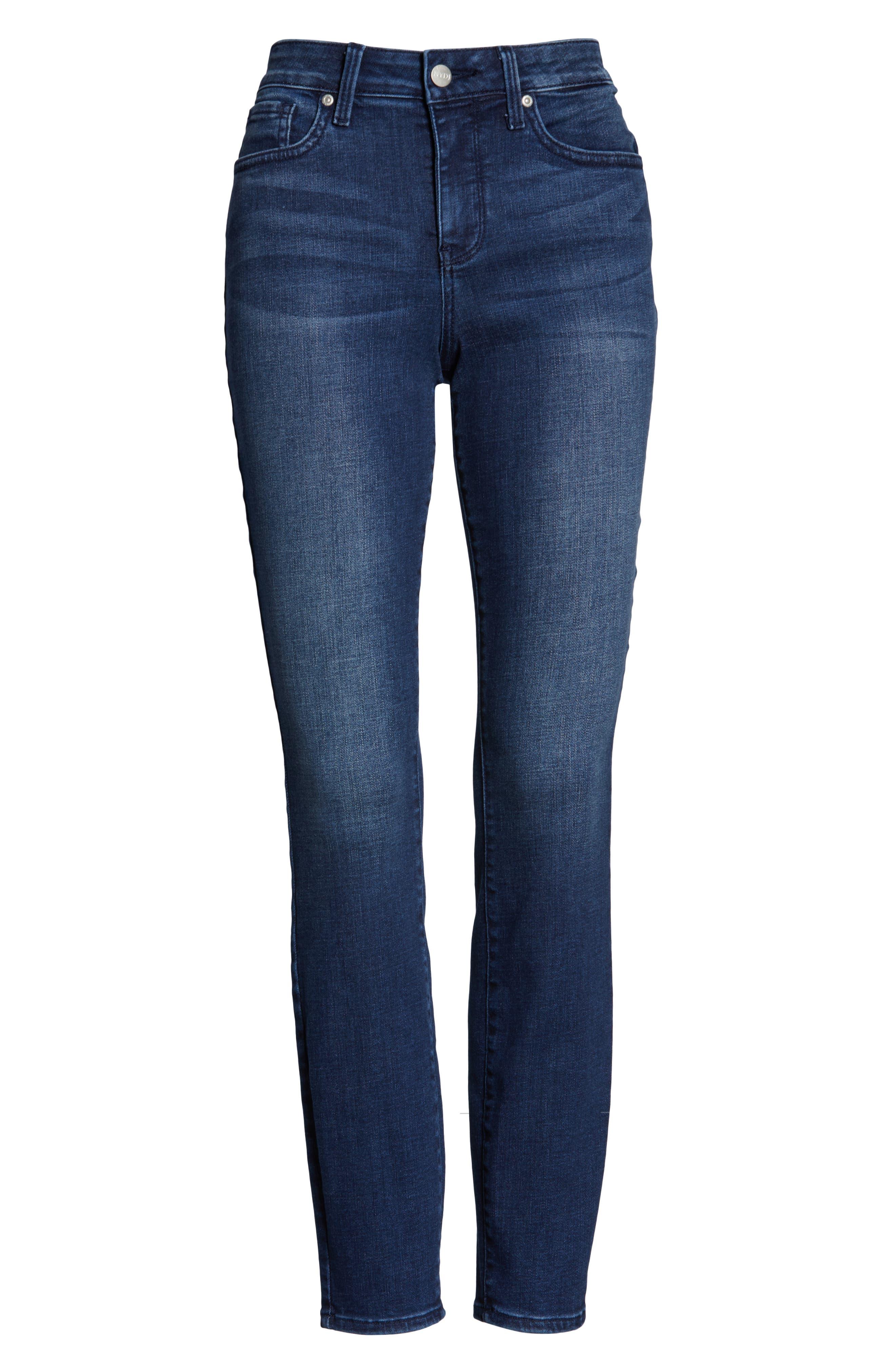 NYDJ, Ami Ankle Skinny Jeans, Alternate thumbnail 5, color, REGO