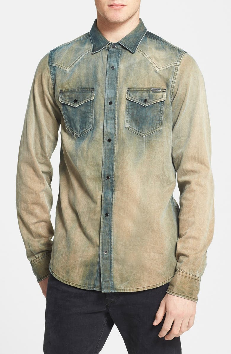 a7b94d6300 DIESEL SUP ®  SUP   New Sonora  Denim Western Shirt