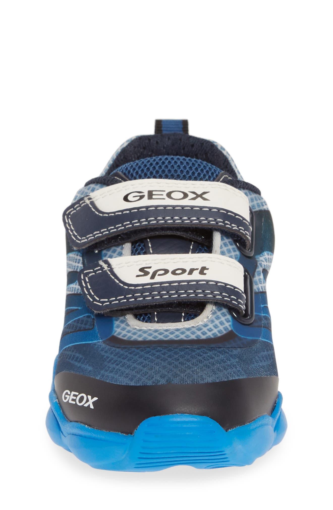 GEOX, J Munfrey Sneaker, Alternate thumbnail 4, color, NAVY/ AVIO