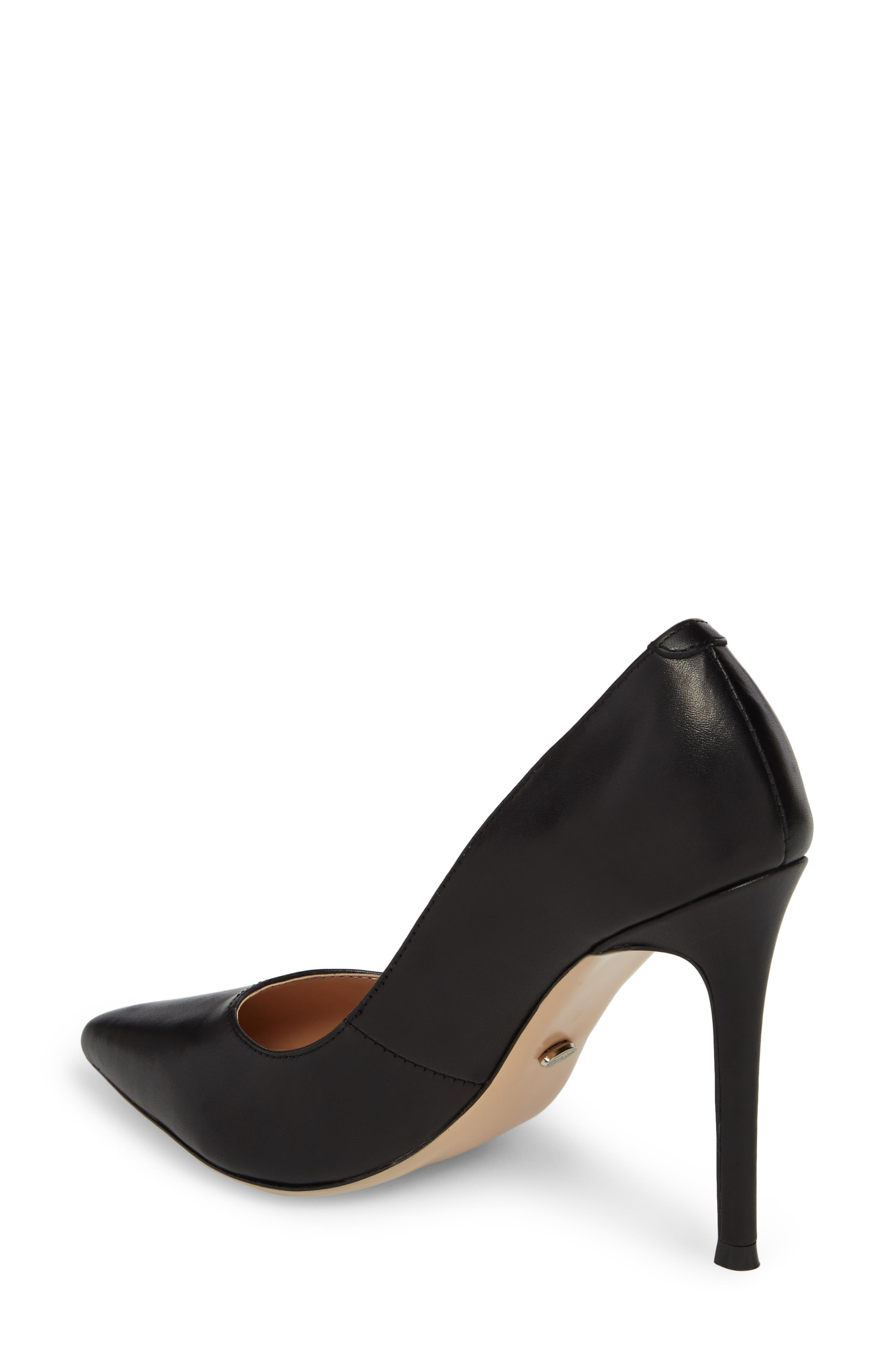 TONY BIANCO, Lotus Pointy Toe Pump, Alternate thumbnail 2, color, 001
