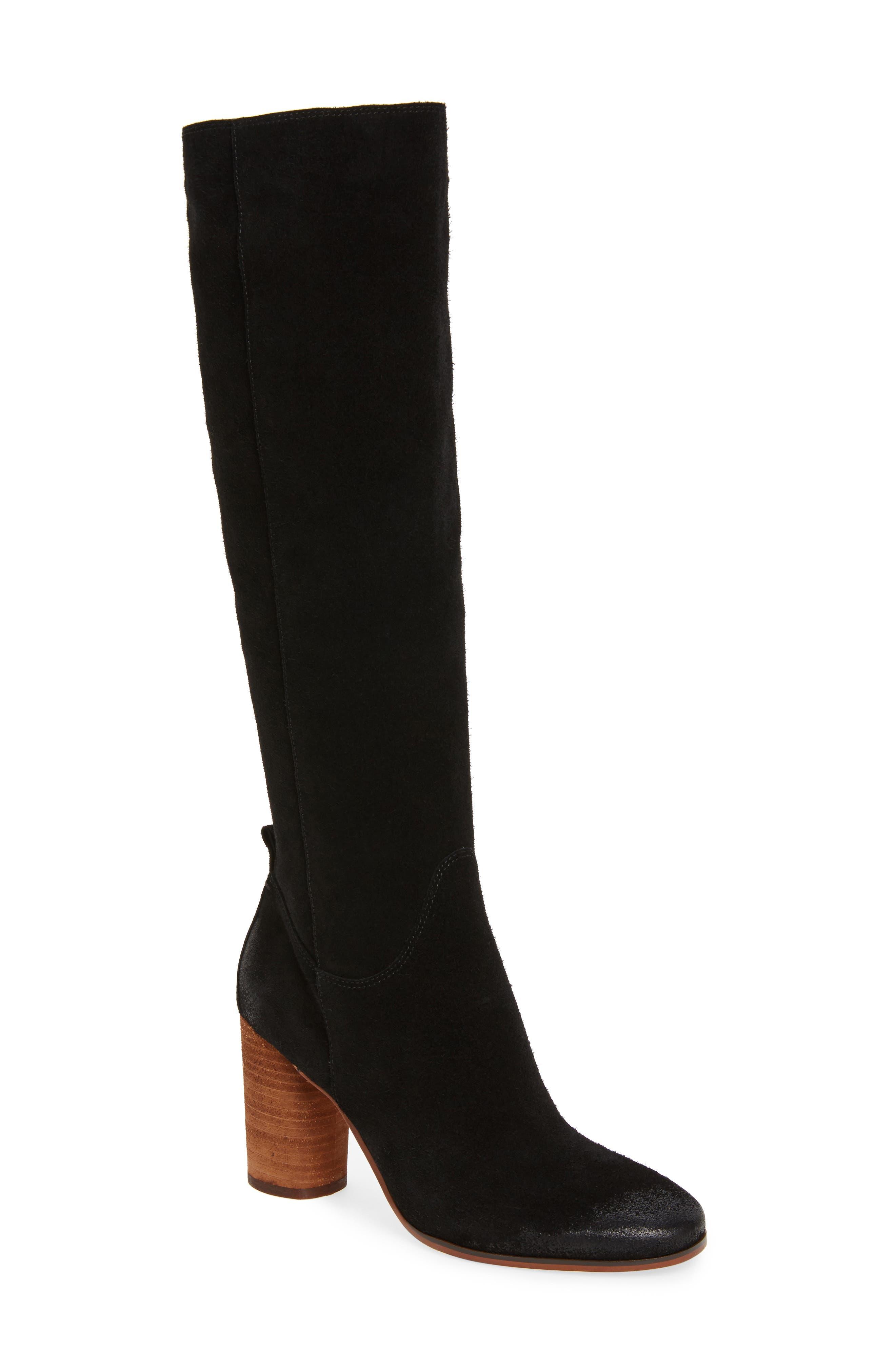 SAM EDELMAN Camellia Tall Boot, Main, color, 002