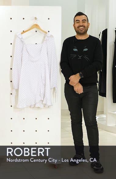 In Bloom Polka Dot Asymmetrical Dress, sales video thumbnail