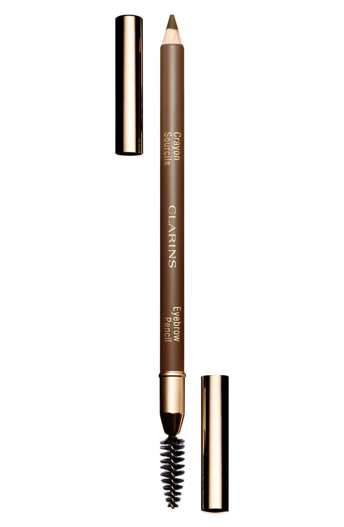CLARINS Eyebrow Pencil, Main, color, SOFT BLONDE