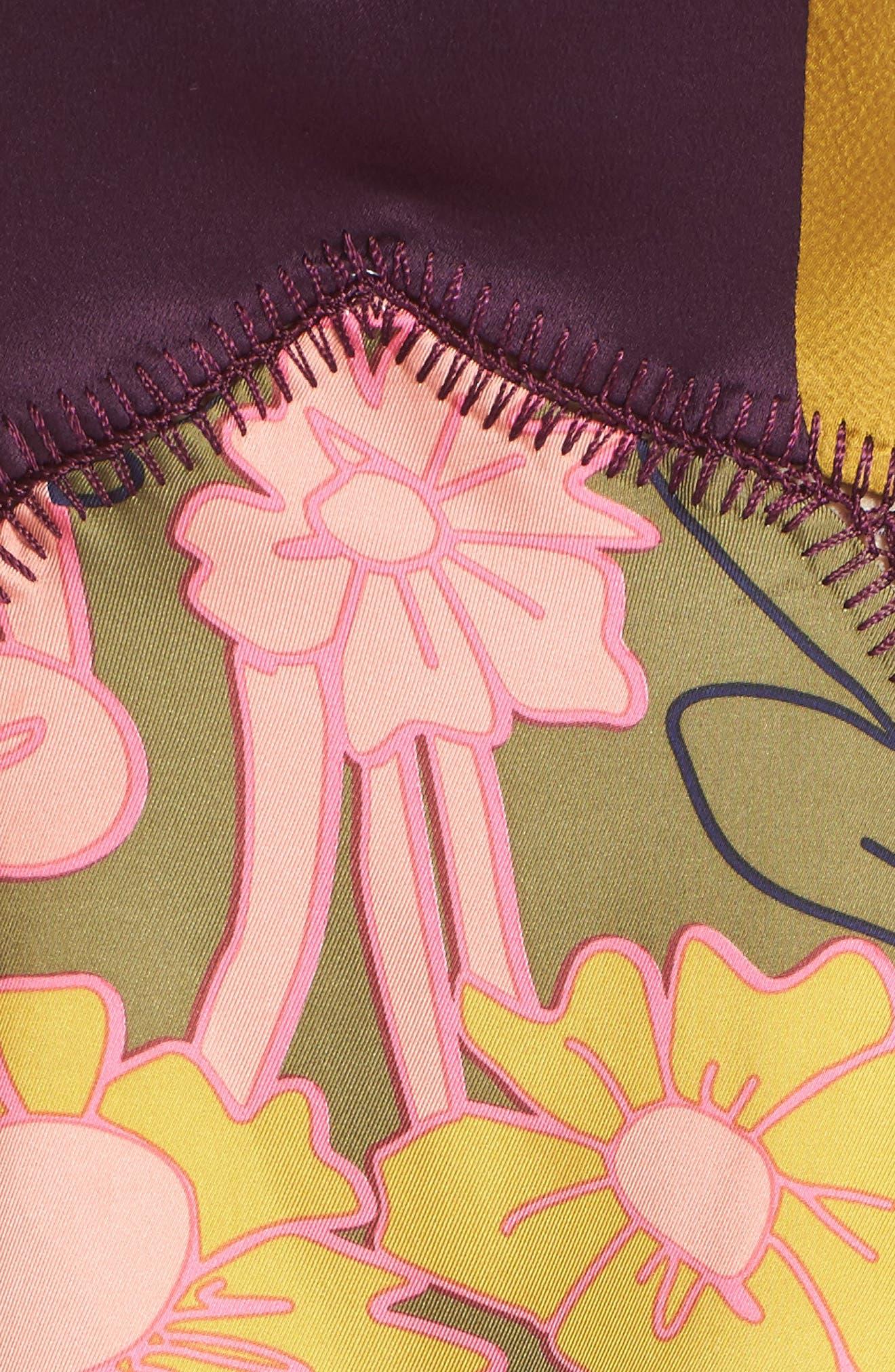 ROKSANDA, Hirani Dress, Alternate thumbnail 6, color, 695
