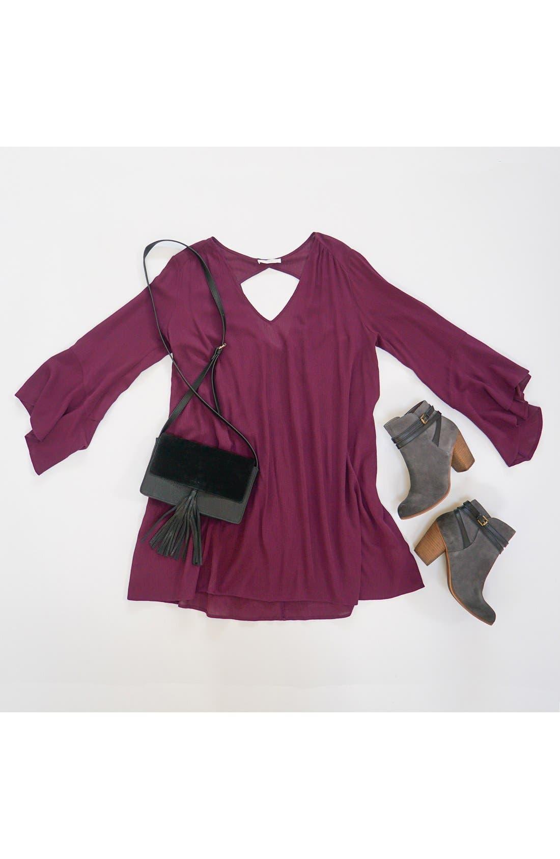 BP., Tassel Faux Leather Crossbody Bag, Main thumbnail 1, color, 285