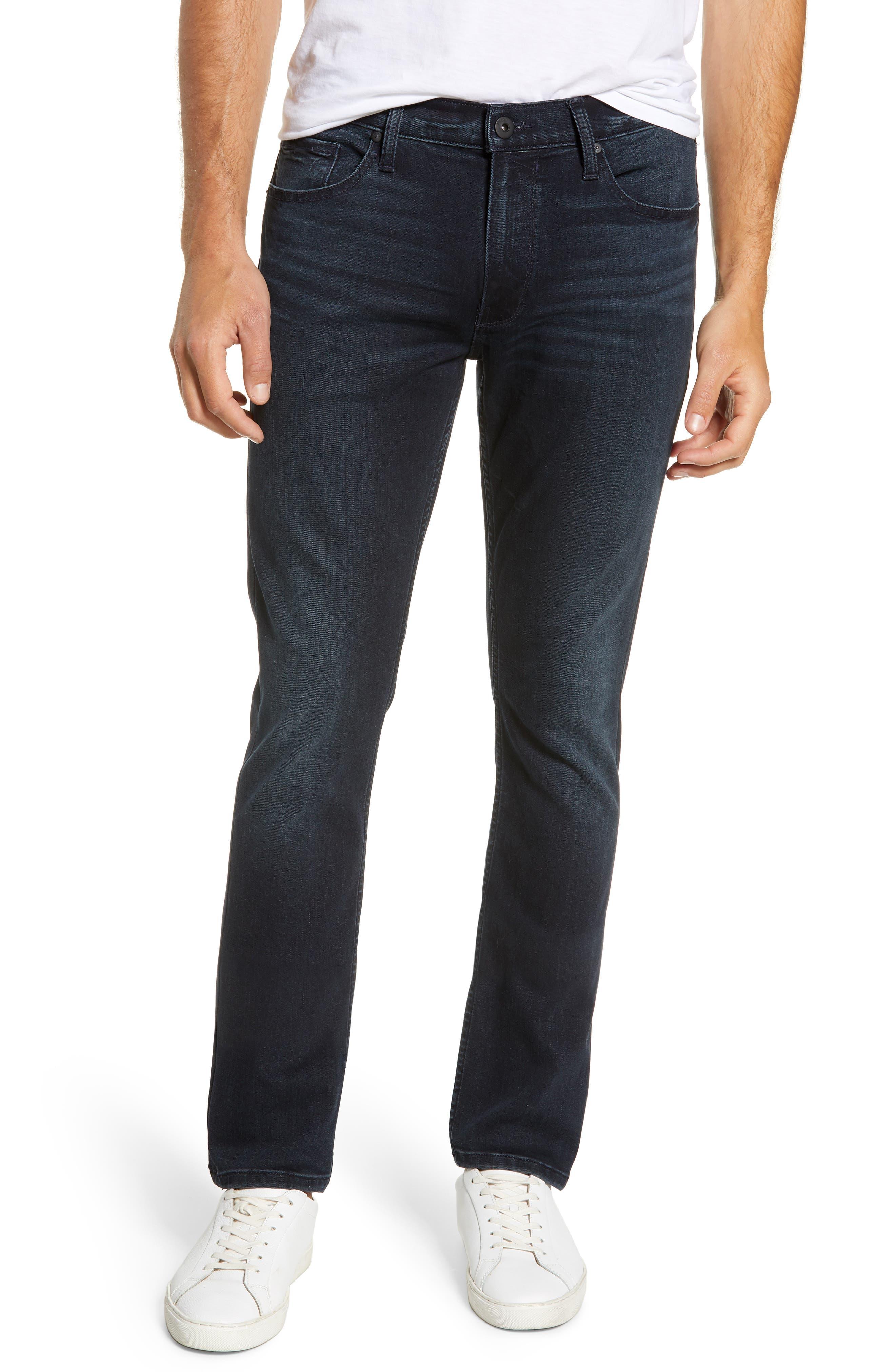 PAIGE, Transcend - Lennox Slim Fit Jeans, Main thumbnail 1, color, HOLLAND