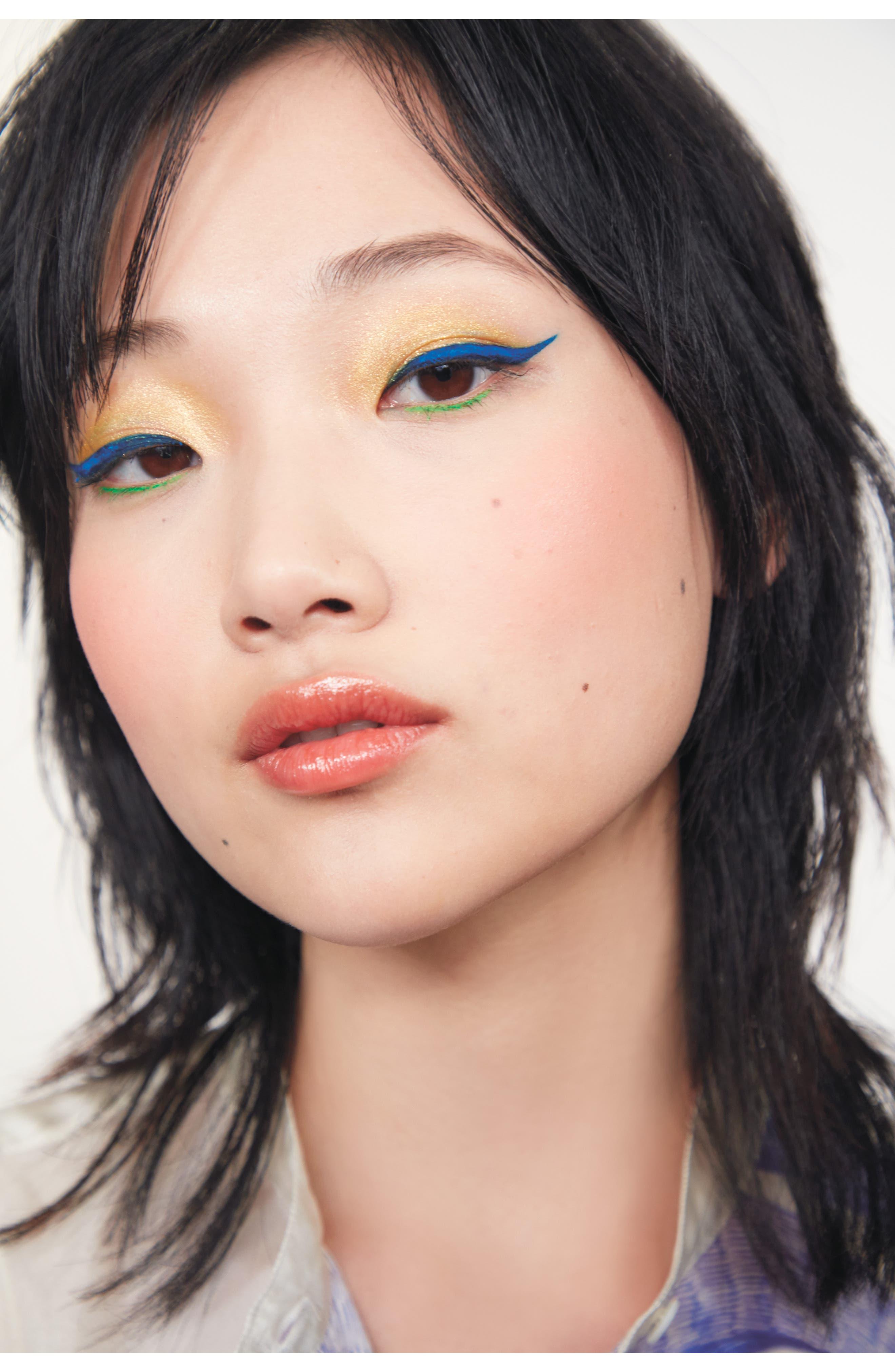 YVES SAINT LAURENT, Dessin du Regard Waterproof Eyeliner Pencil, Alternate thumbnail 2, color, 01 BLACK