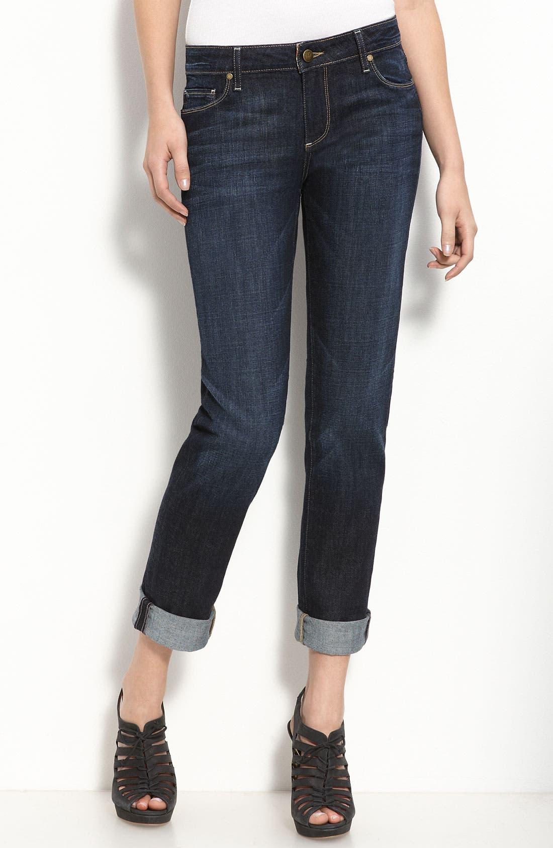 PAIGE, Denim 'Jimmy Jimmy' Stretch Jeans, Main thumbnail 1, color, 410