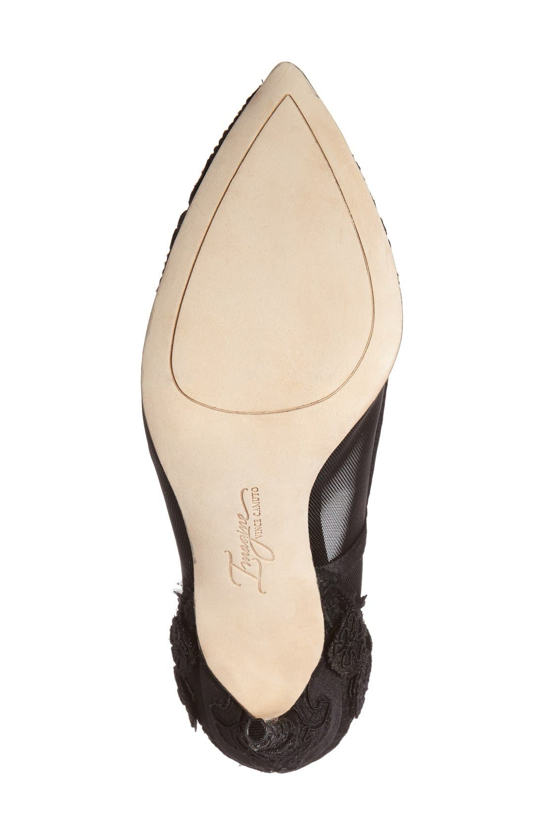 IMAGINE BY VINCE CAMUTO, 'Ophelia' Pointy Toe Pump, Alternate thumbnail 3, color, 001