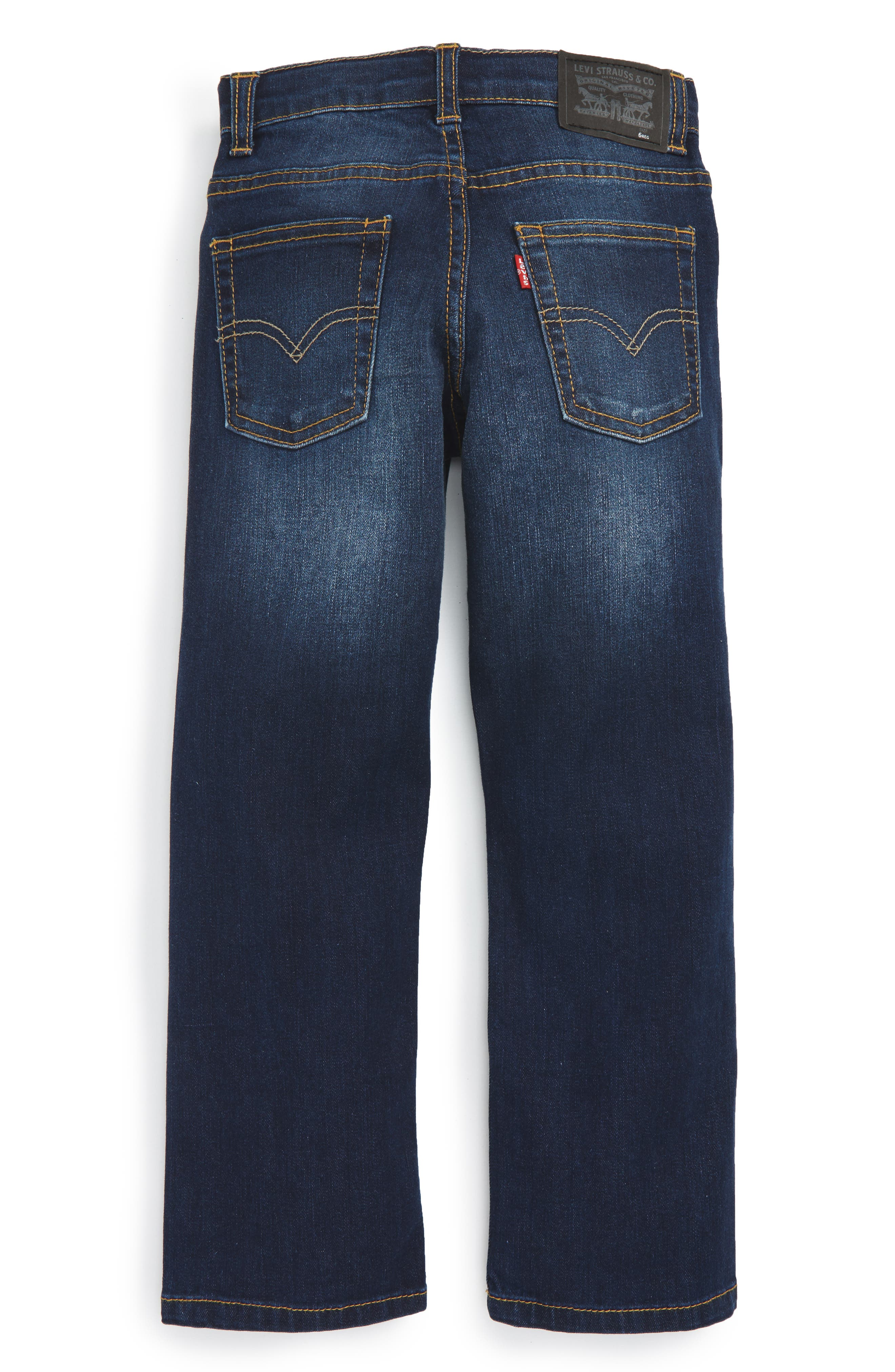 LEVI'S<SUP>®</SUP>, 511<sup>™</sup> Knit Slim Leg Jeans, Alternate thumbnail 2, color, BIKER BLUE