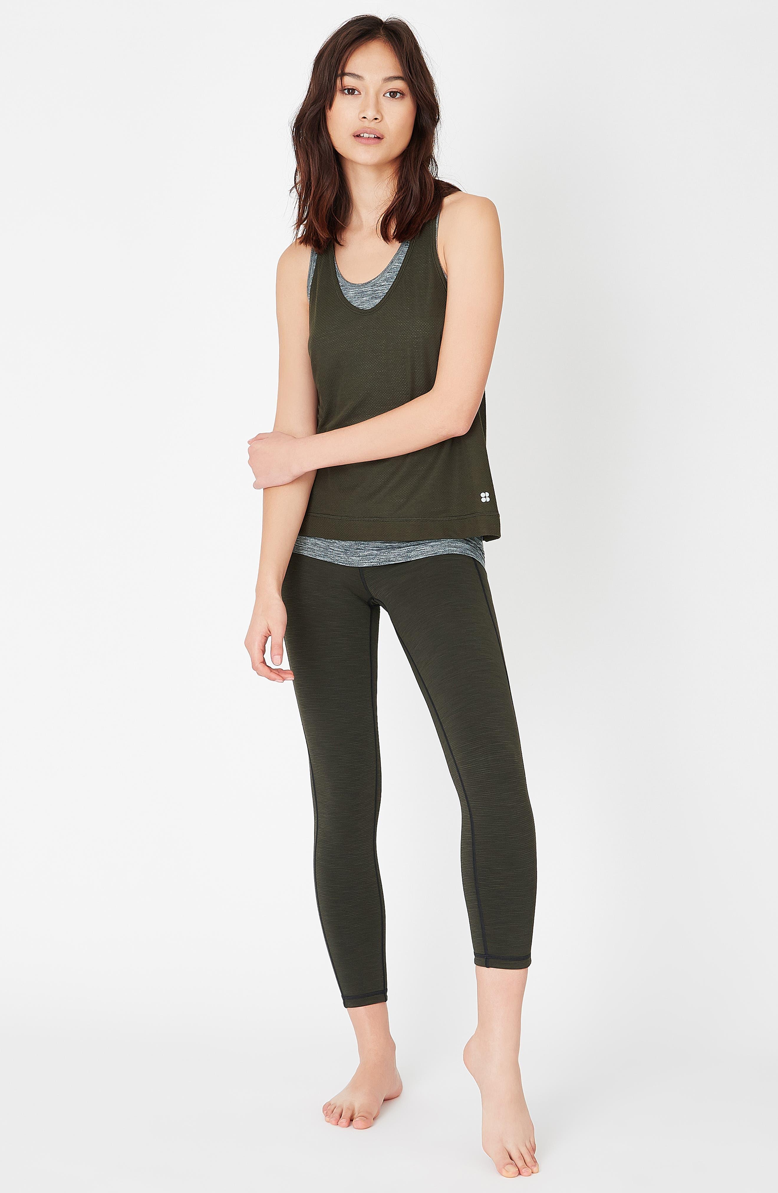 SWEATY BETTY, Reversible Yoga Leggings, Alternate thumbnail 6, color, 300
