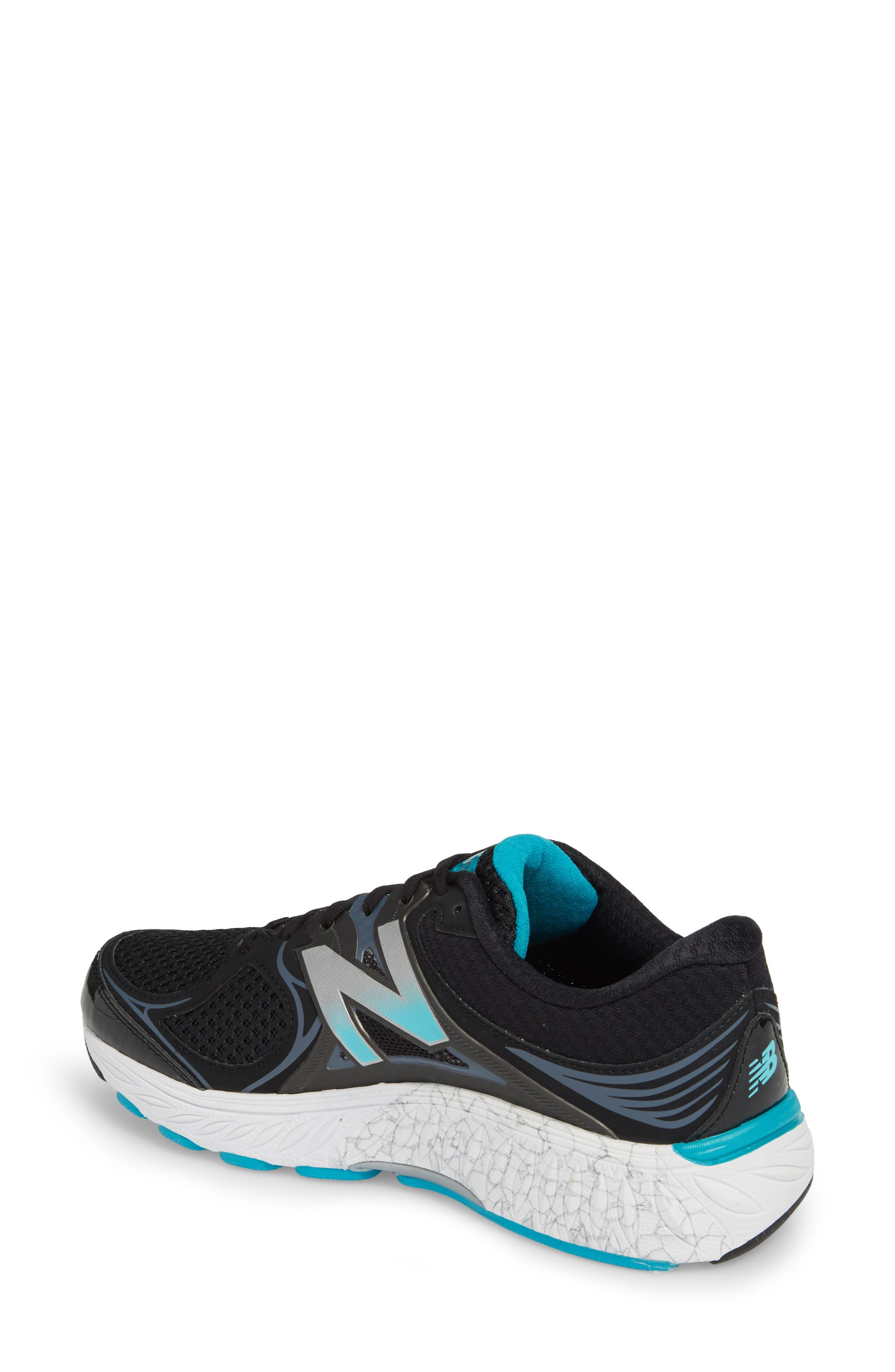 NEW BALANCE, 940v3 Running Shoe, Alternate thumbnail 2, color, BLACK/ BLUE